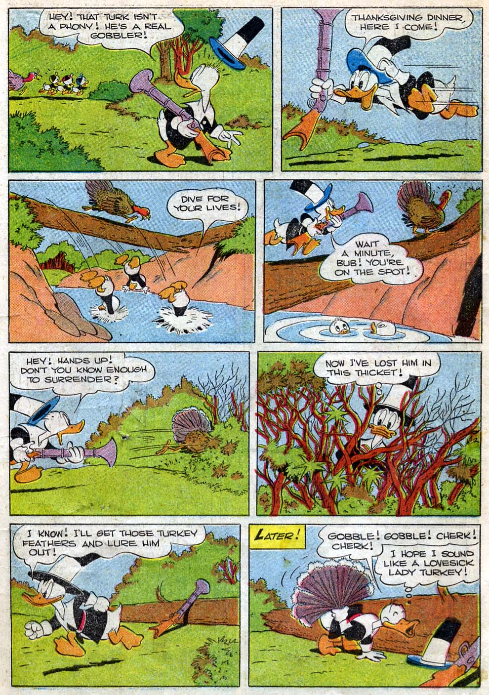Walt Disney's Comics and Stories issue 87 - Page 9