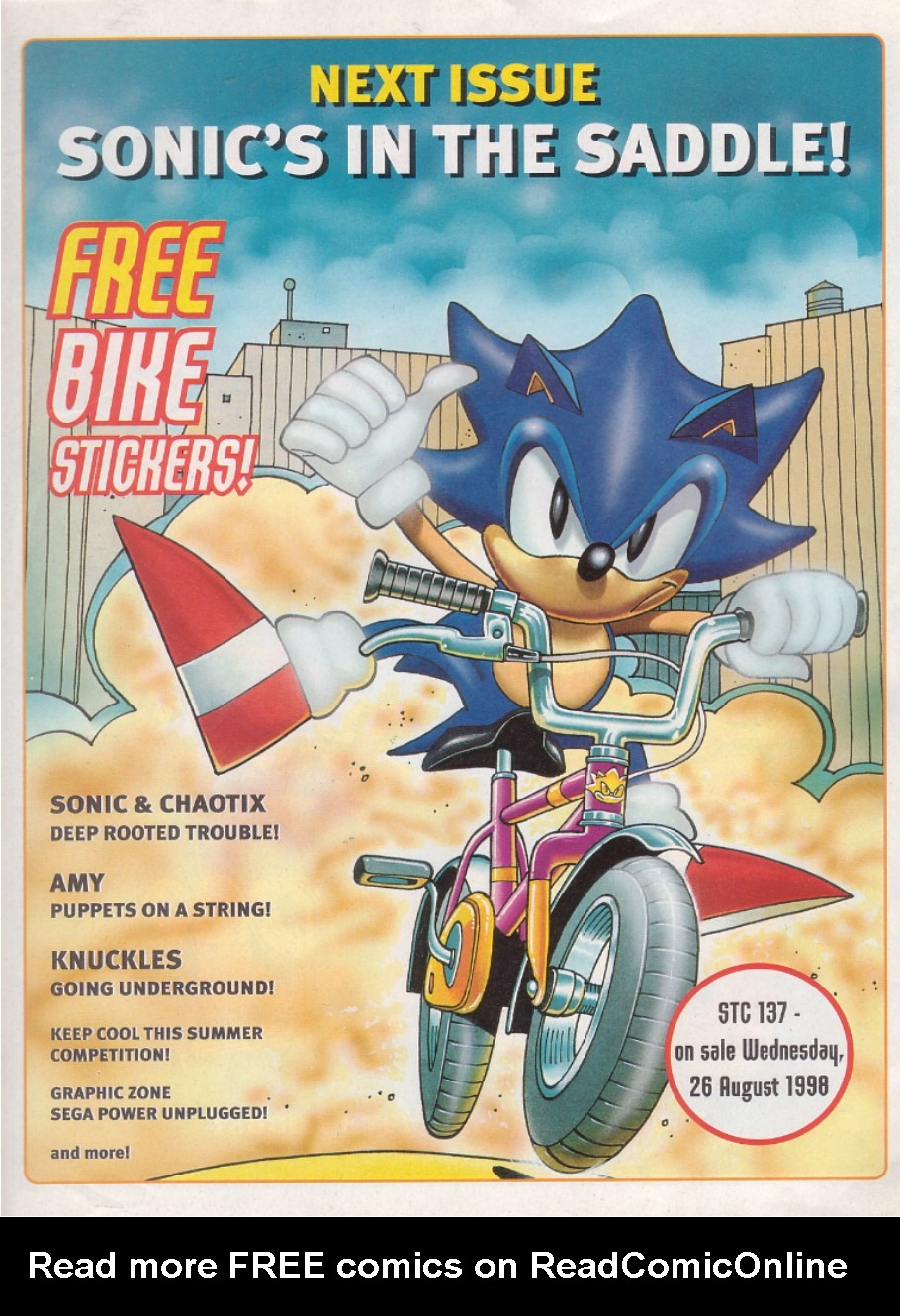 Read online Sonic the Comic comic -  Issue #136 - 23
