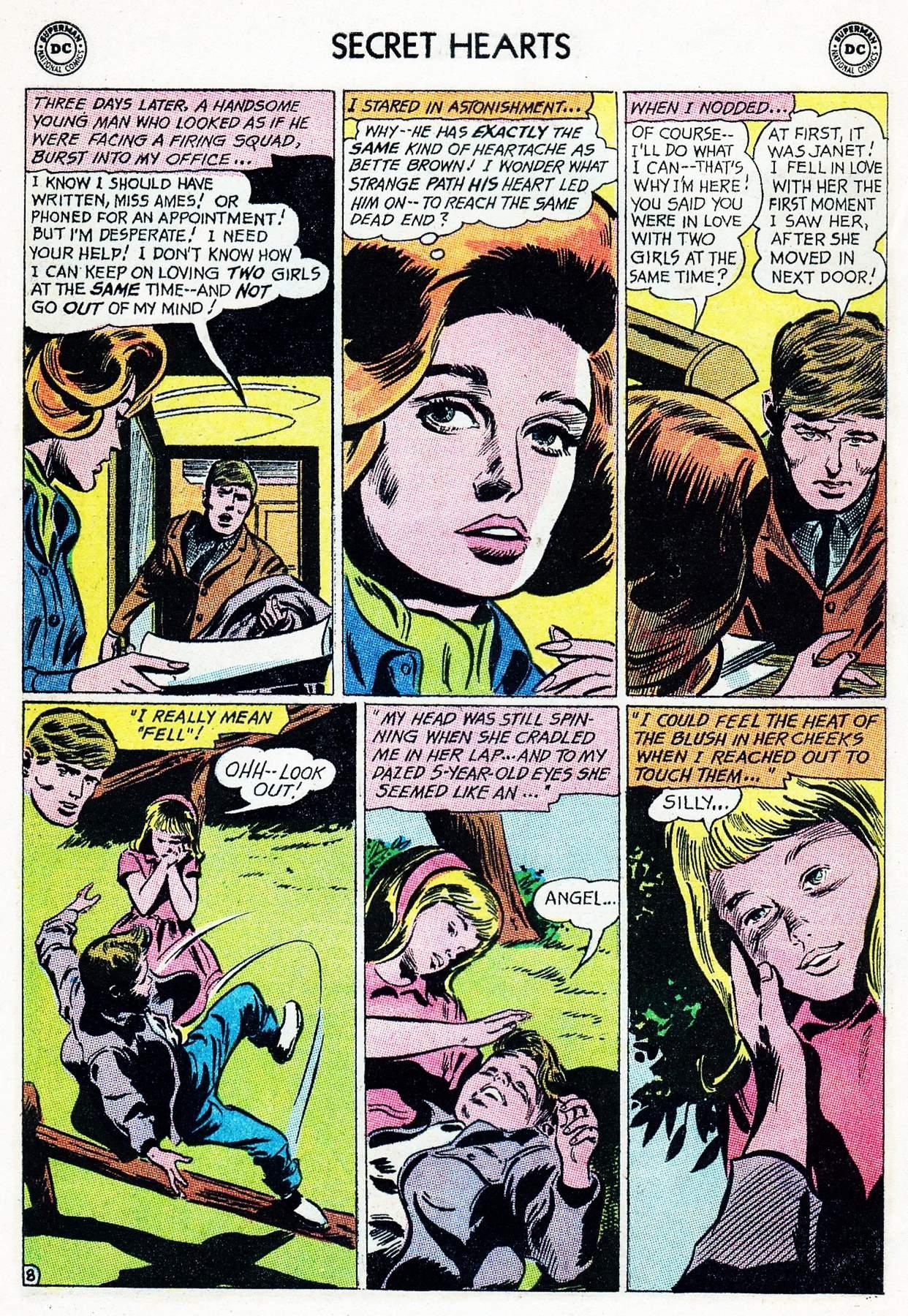 Read online Secret Hearts comic -  Issue #105 - 28