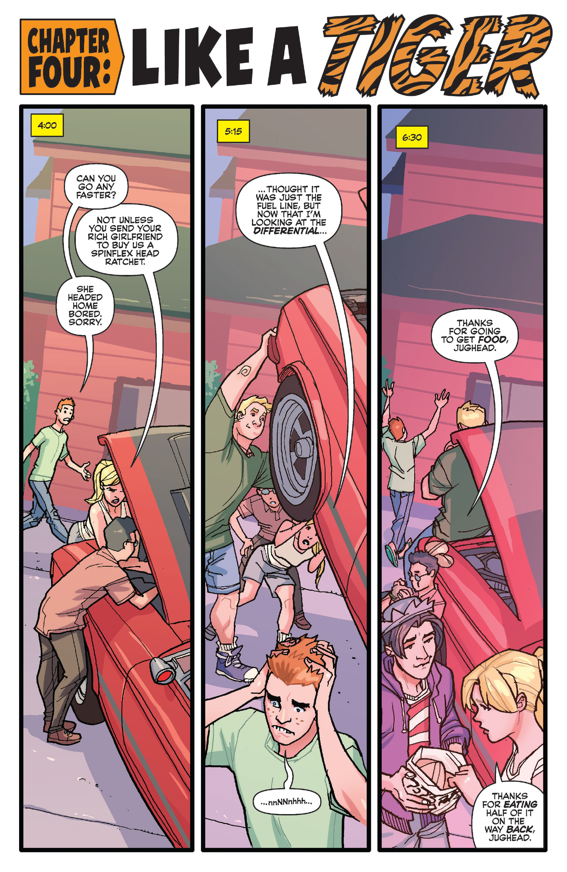 Read online Archie (2015) comic -  Issue #20 - 13