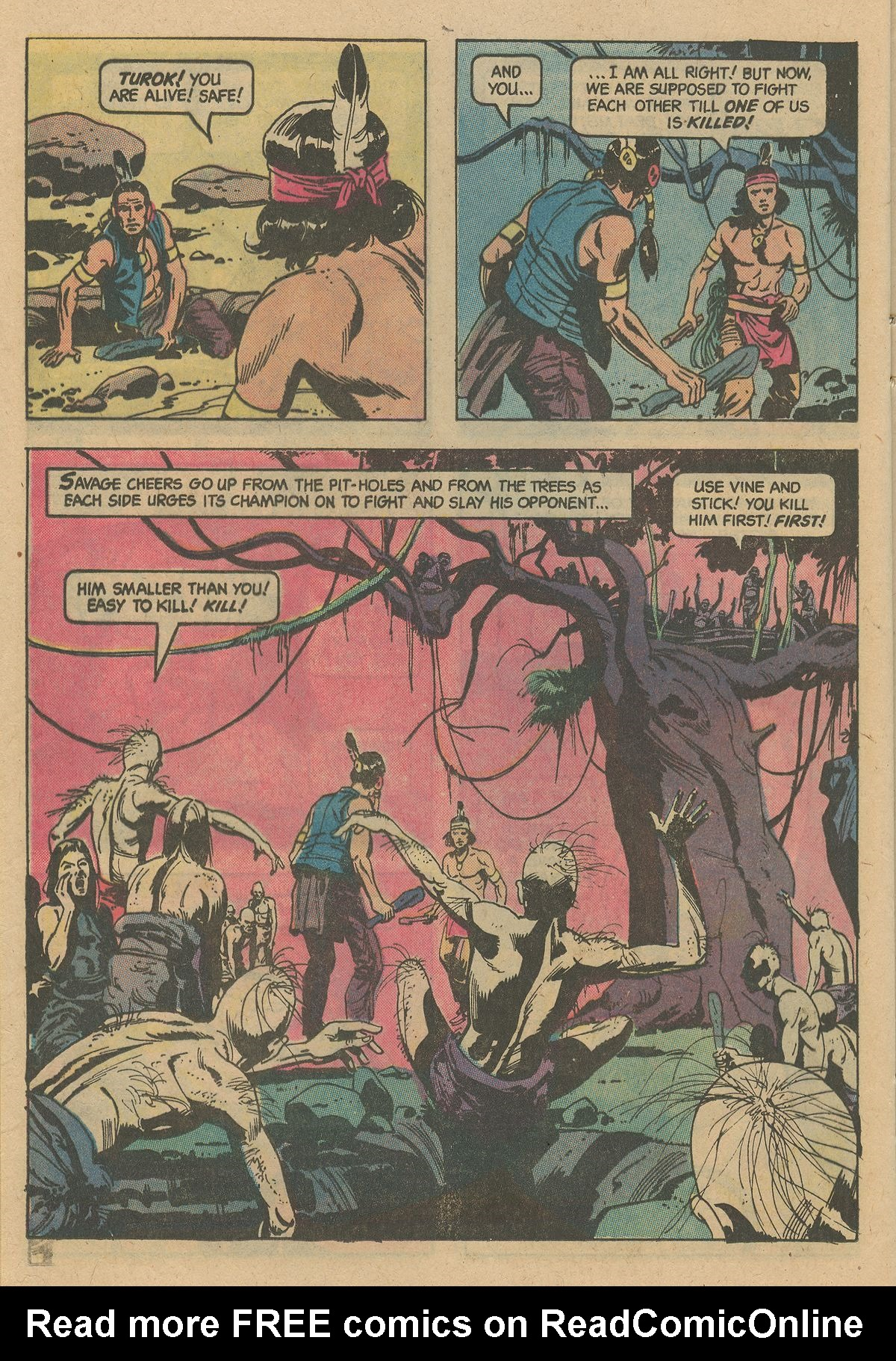 Read online Turok, Son of Stone comic -  Issue #128 - 24