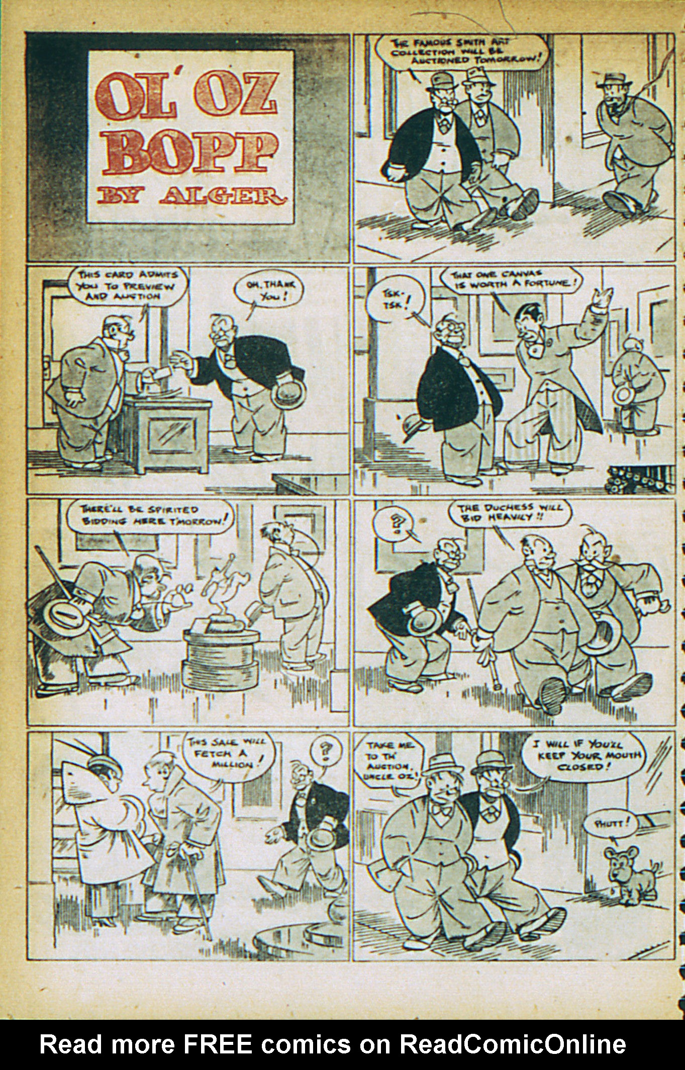 Read online Adventure Comics (1938) comic -  Issue #27 - 36