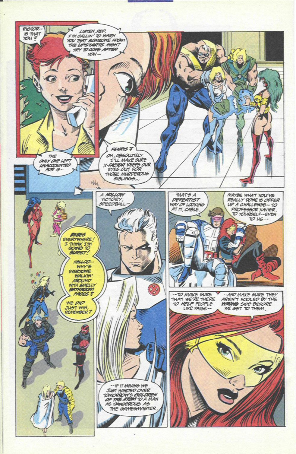 The New Warriors Issue #46 #50 - English 23