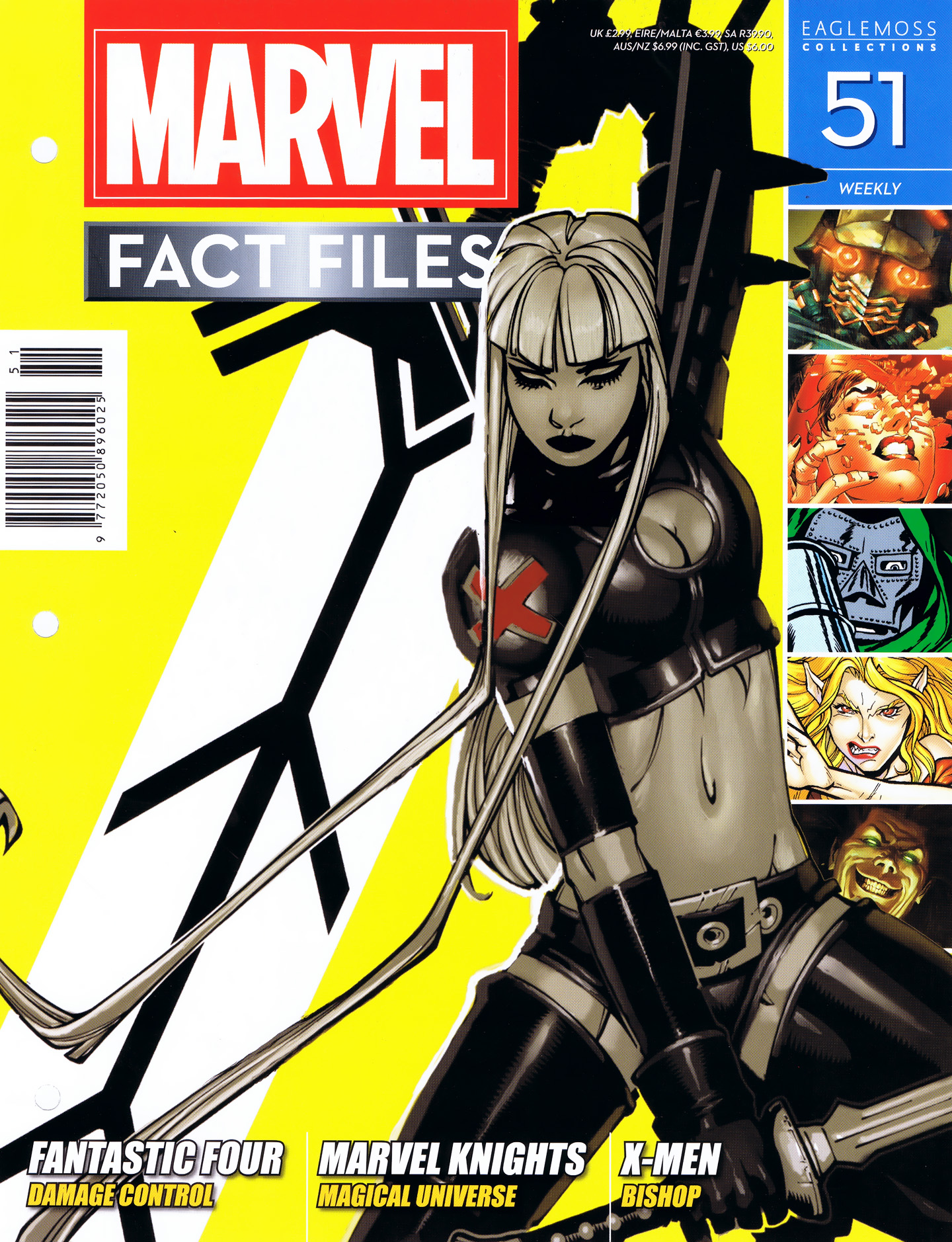 Marvel Fact Files 51 Page 1