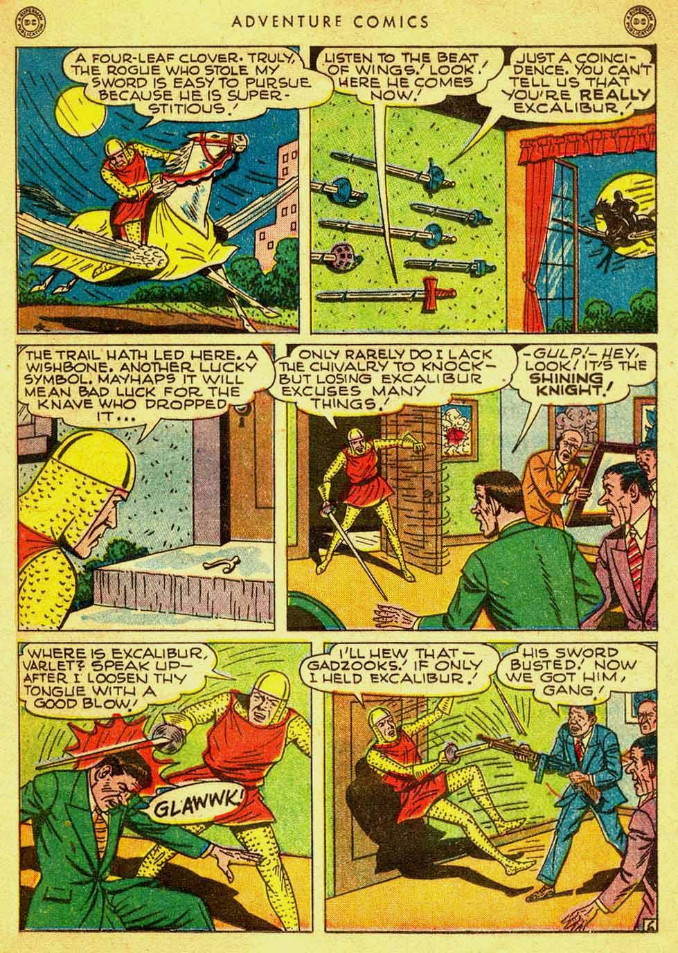 Read online Adventure Comics (1938) comic -  Issue #121 - 36