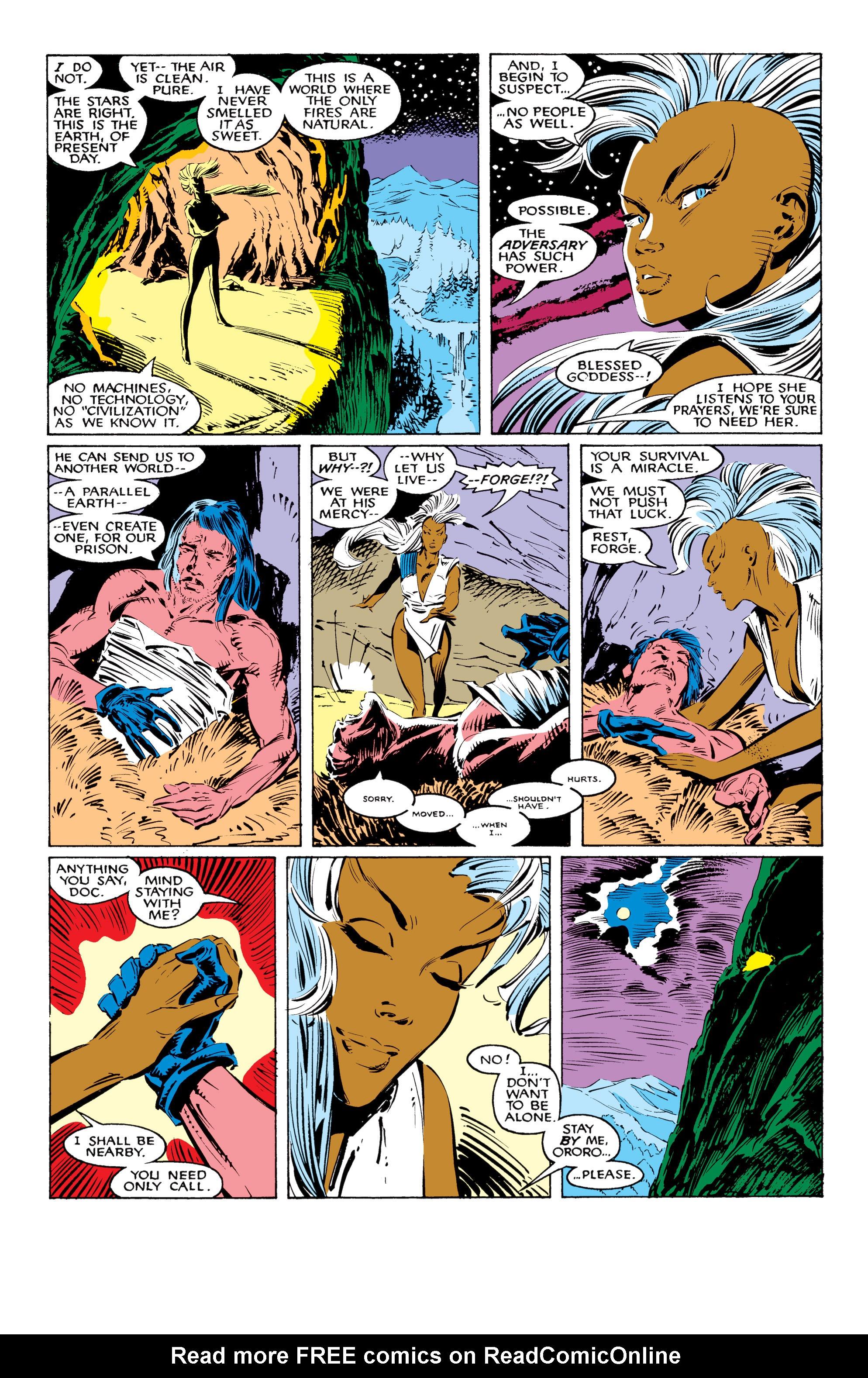 Read online Uncanny X-Men (1963) comic -  Issue #226 - 10