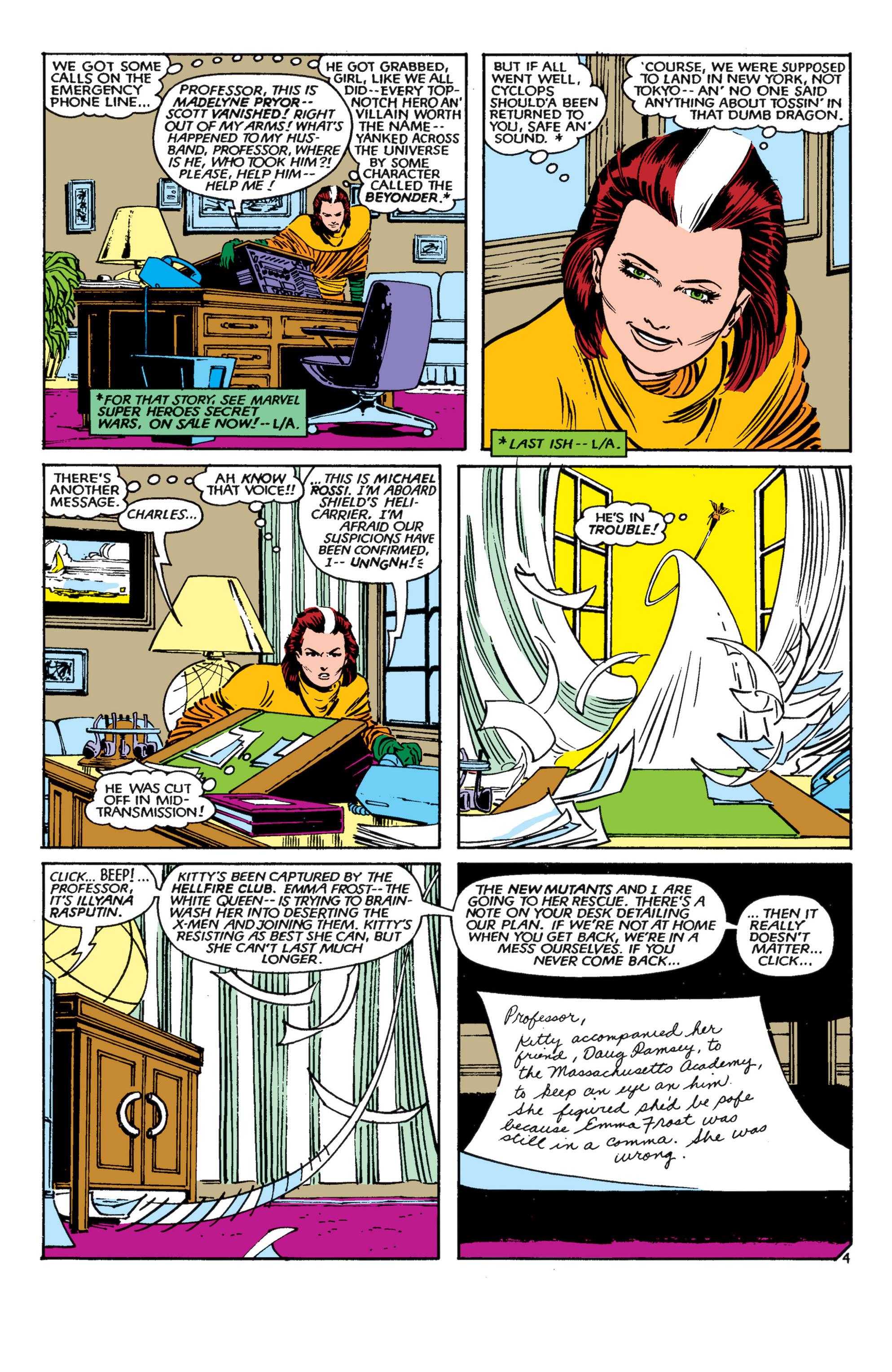Read online Uncanny X-Men (1963) comic -  Issue #182 - 5