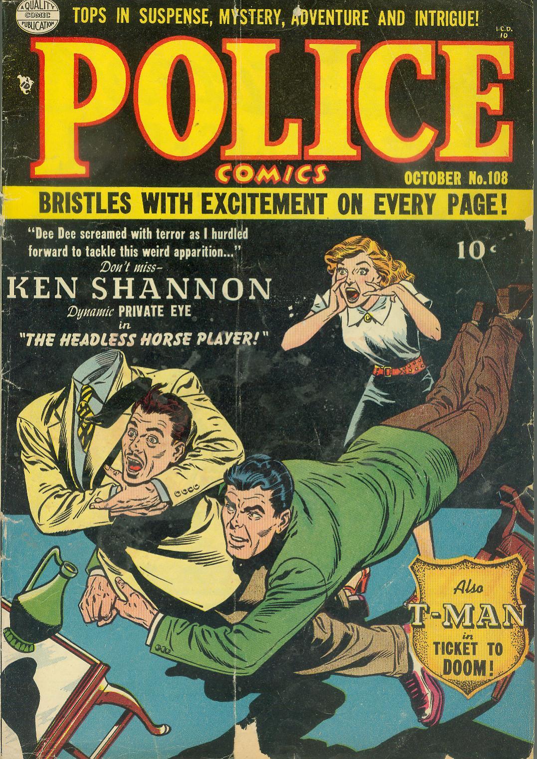 Police Comics 108 Page 1