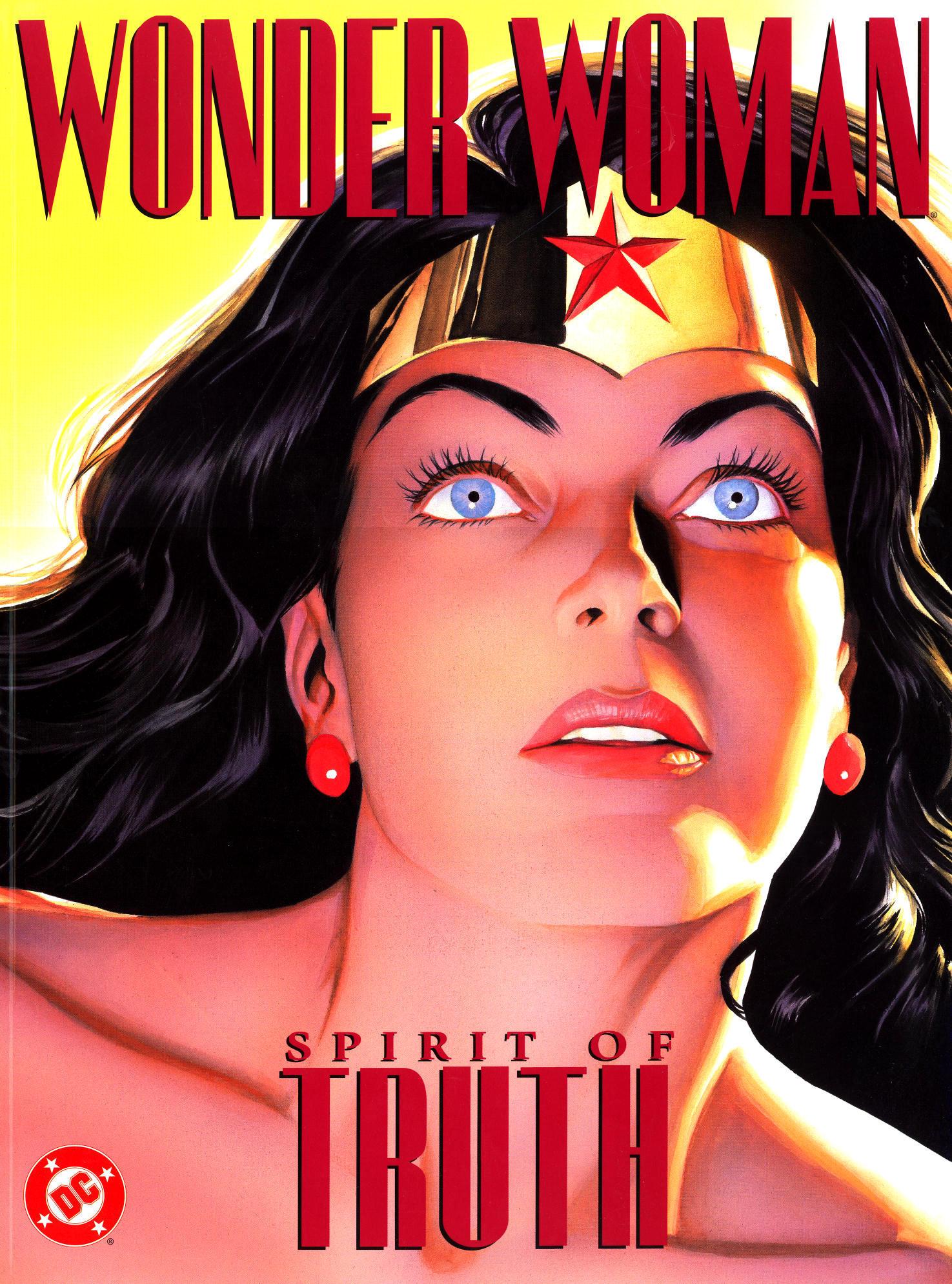 Read online Wonder Woman: Spirit of Truth comic -  Issue # Full - 1