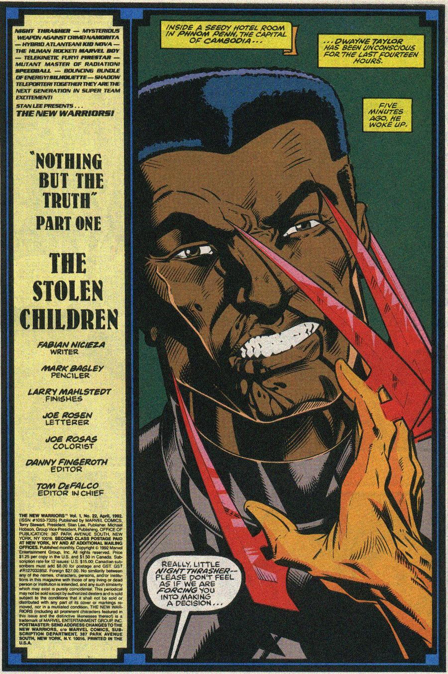 The New Warriors Issue #22 #26 - English 2