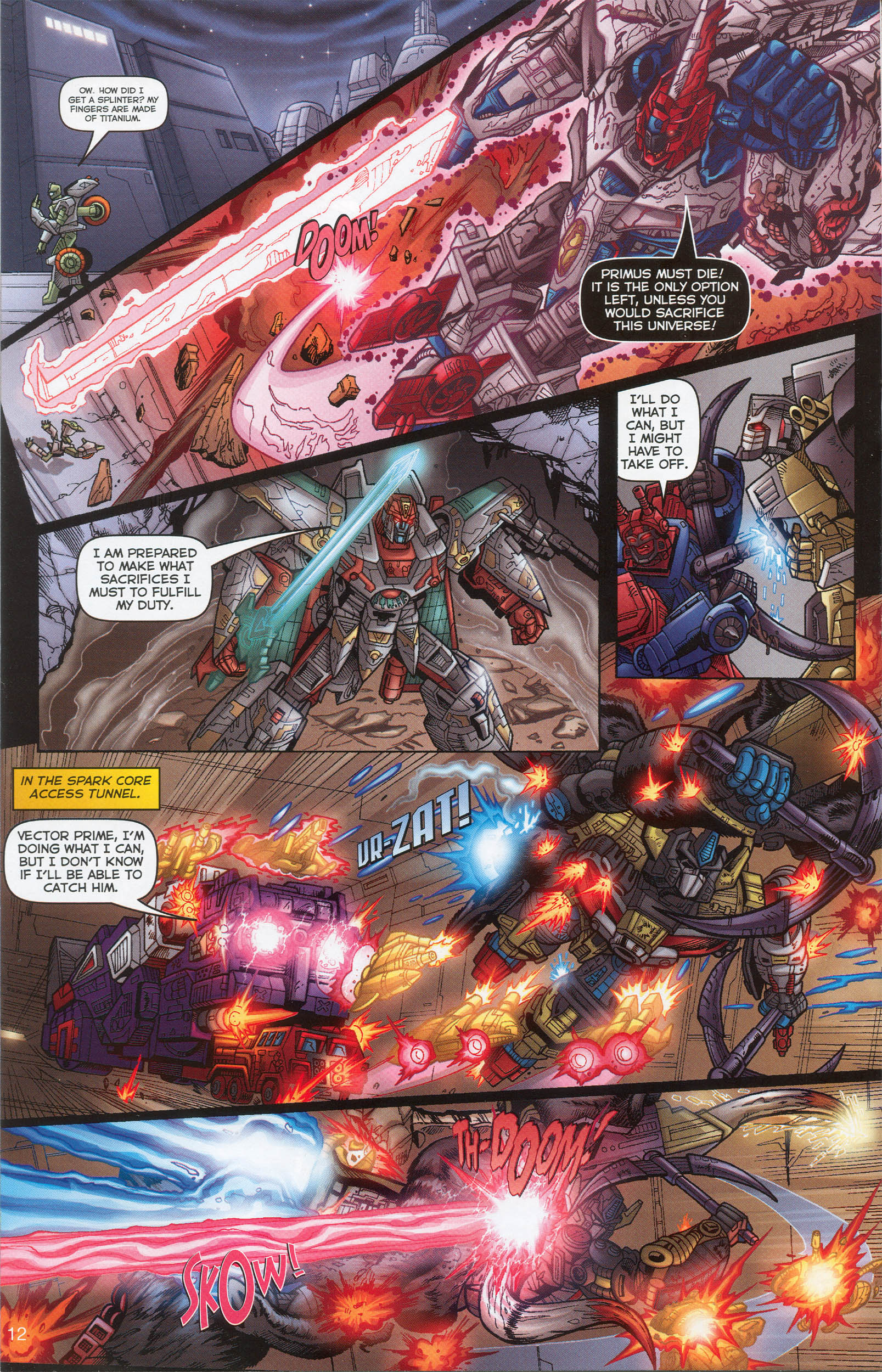 Read online Transformers: Collectors' Club comic -  Issue #6 - 12