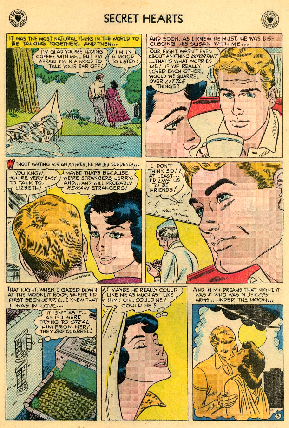 Read online Secret Hearts comic -  Issue #43 - 5