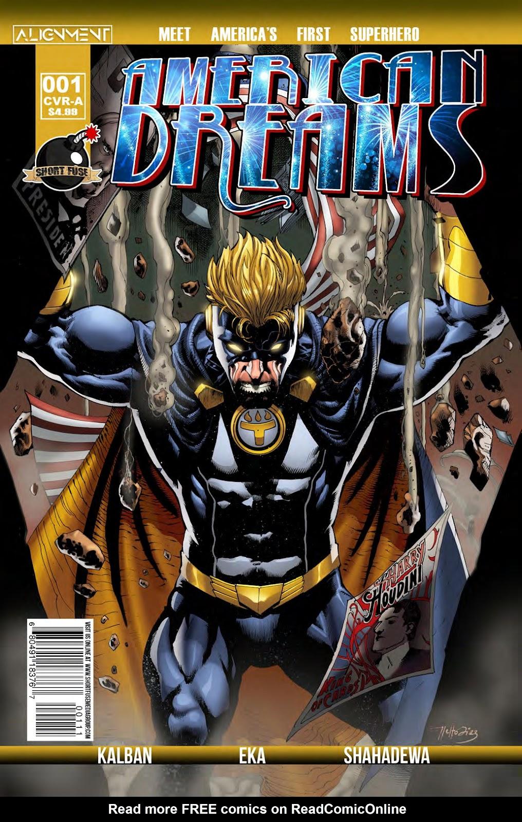 Read online American Dreams comic -  Issue #1 - 1