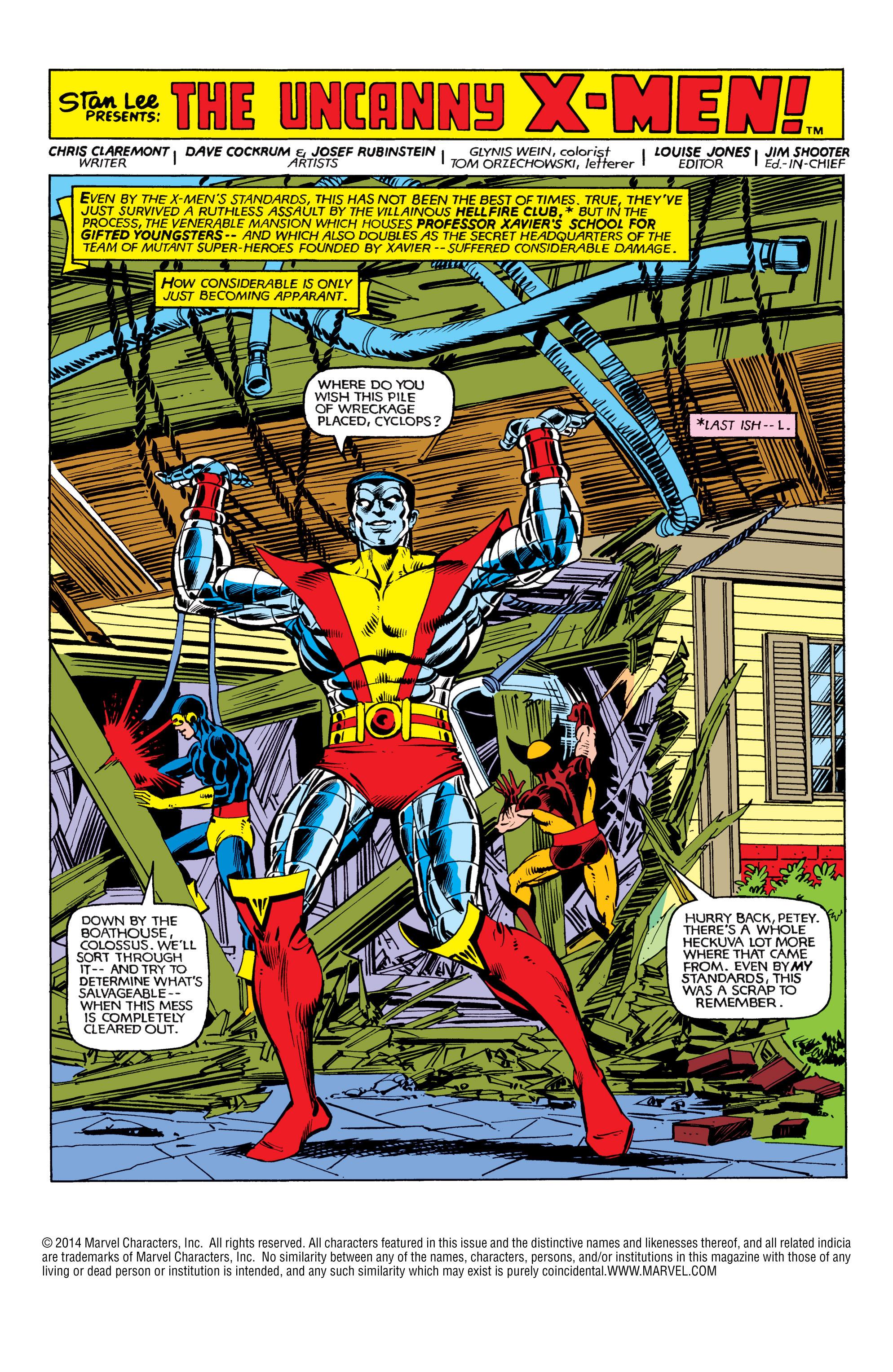 Read online Uncanny X-Men (1963) comic -  Issue #153 - 2