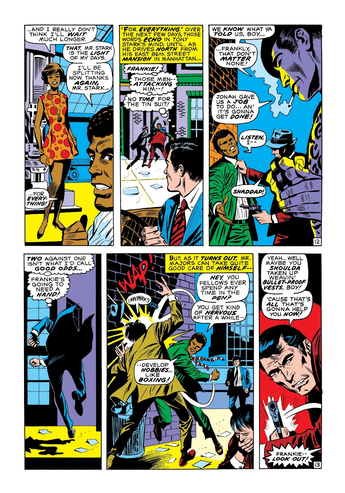 Read online Marvel Masterworks: The Invincible Iron Man comic -  Issue # TPB 7 (Part 3) - 81