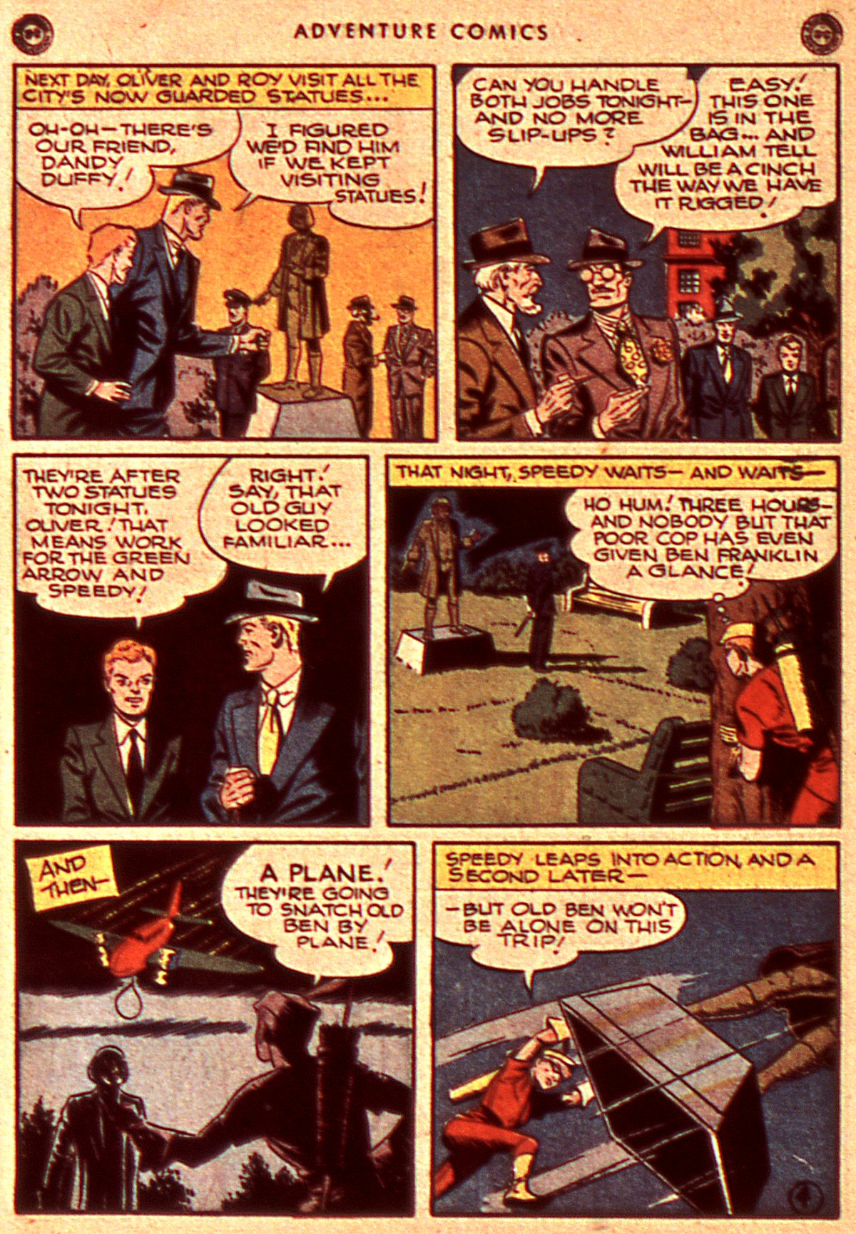 Read online Adventure Comics (1938) comic -  Issue #106 - 14