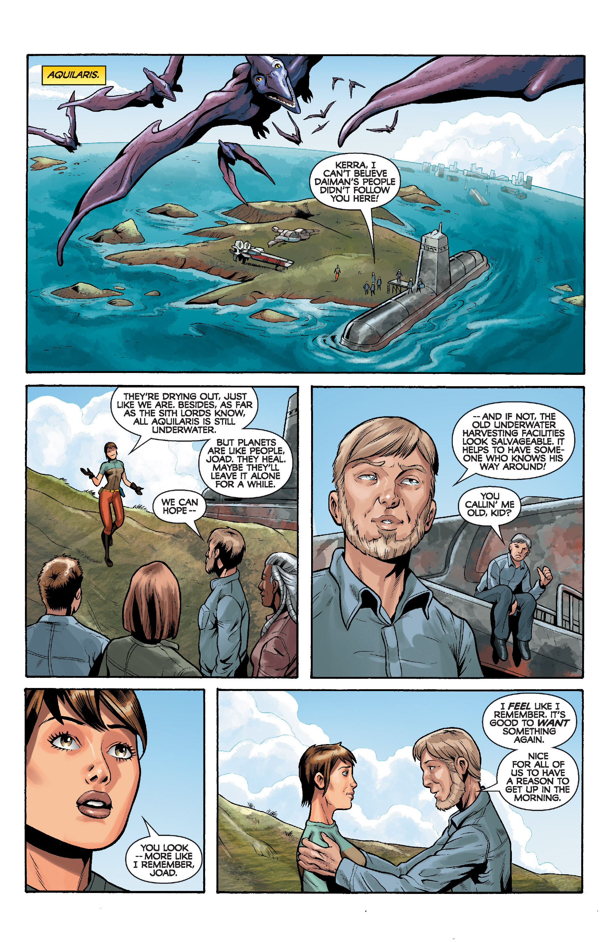 Read online Star Wars: Knight Errant - Deluge comic -  Issue #5 - 22