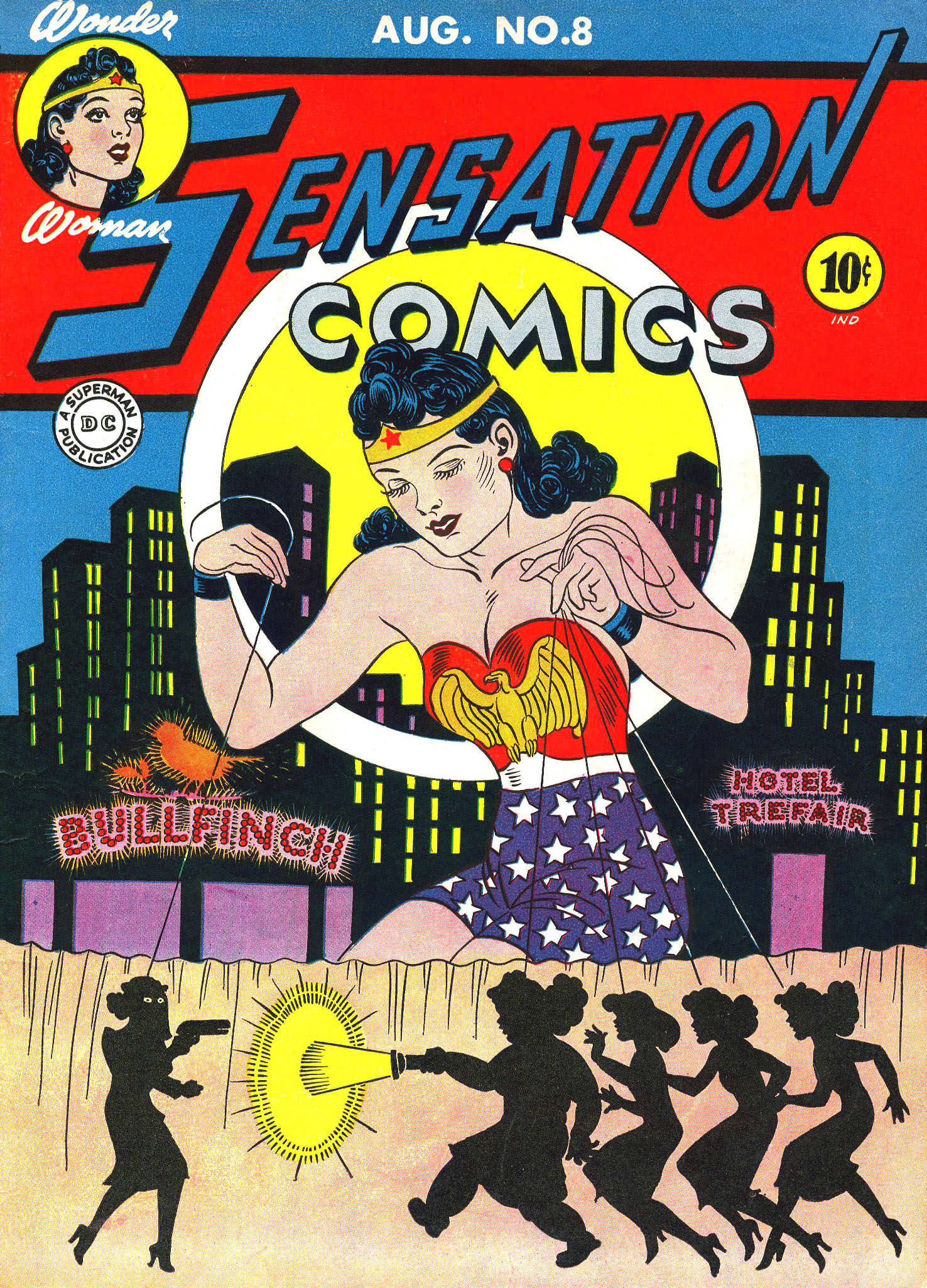 Read online Sensation (Mystery) Comics comic -  Issue #8 - 1