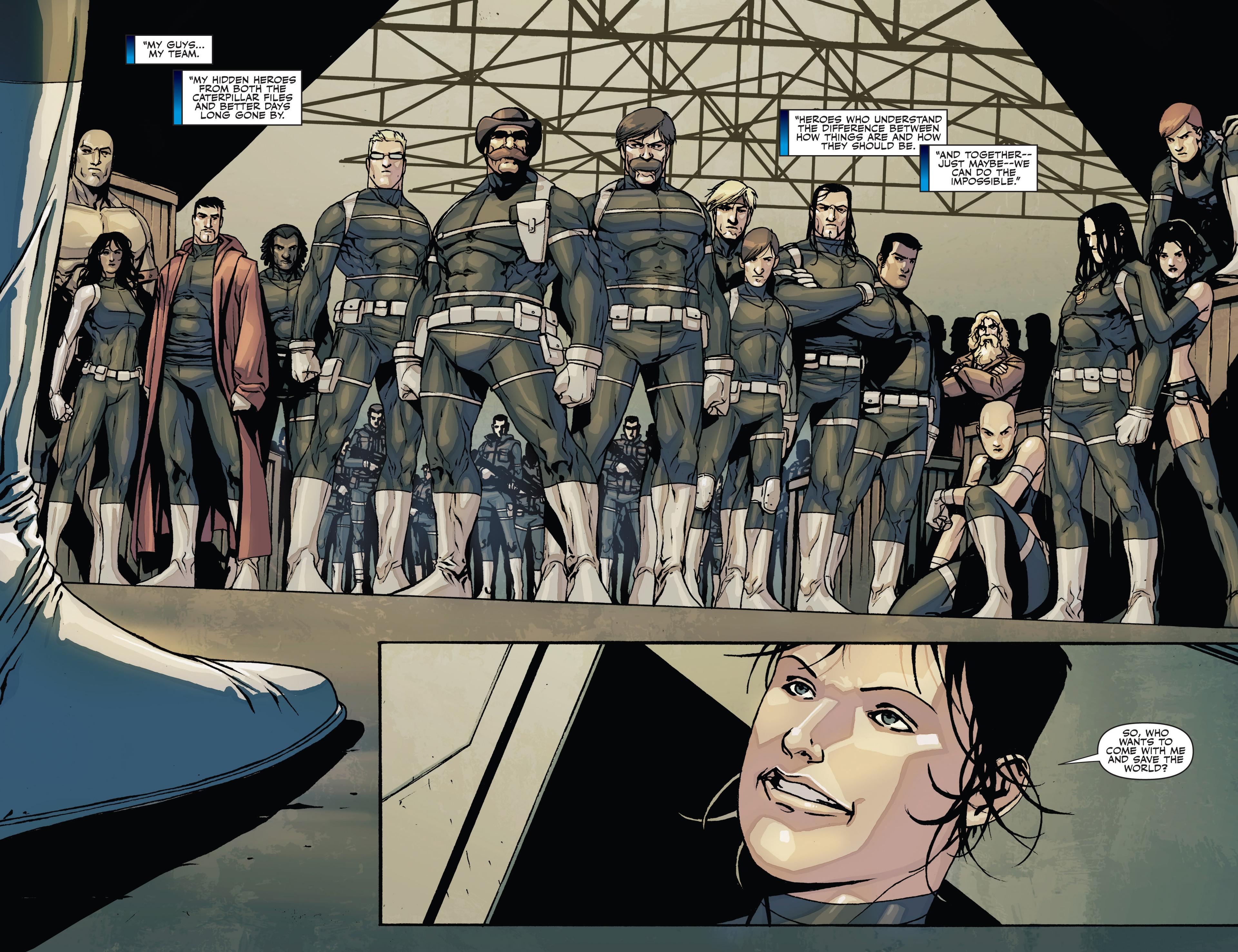 Read online Secret Warriors comic -  Issue #28 - 17