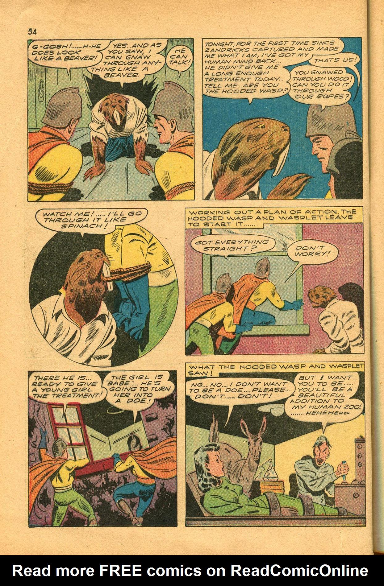 Read online Shadow Comics comic -  Issue #23 - 54