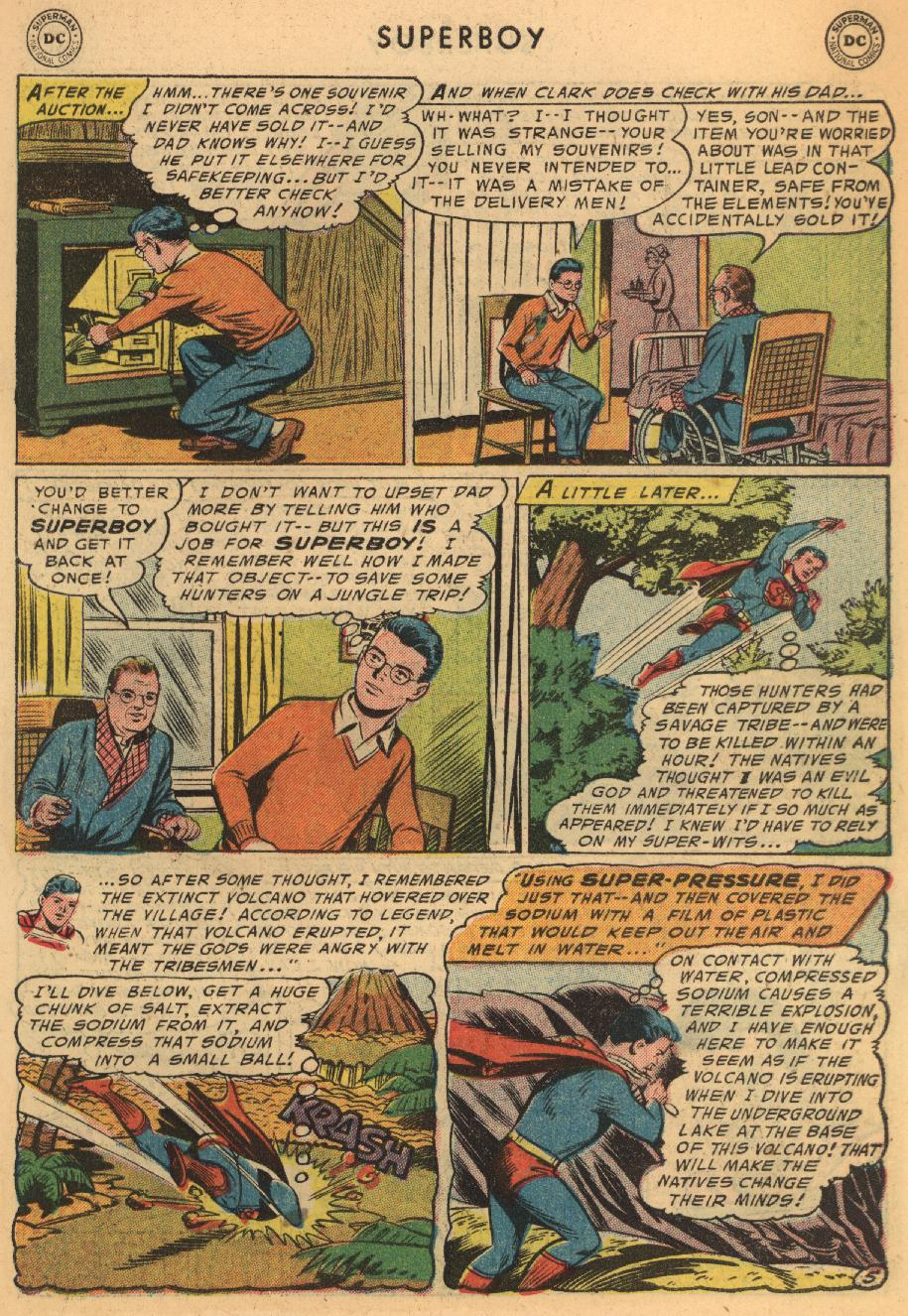 Superboy (1949) issue 45 - Page 6