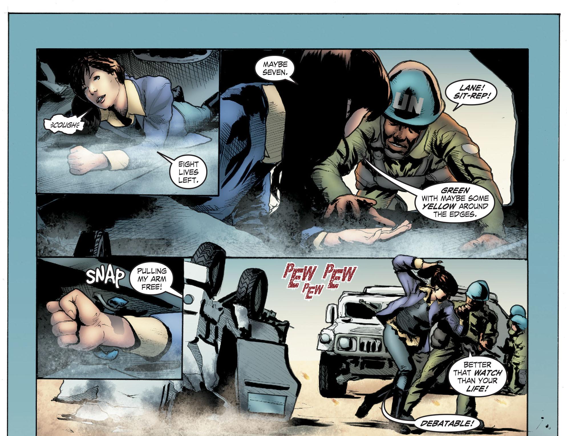 Read online Smallville: Season 11 comic -  Issue #41 - 17