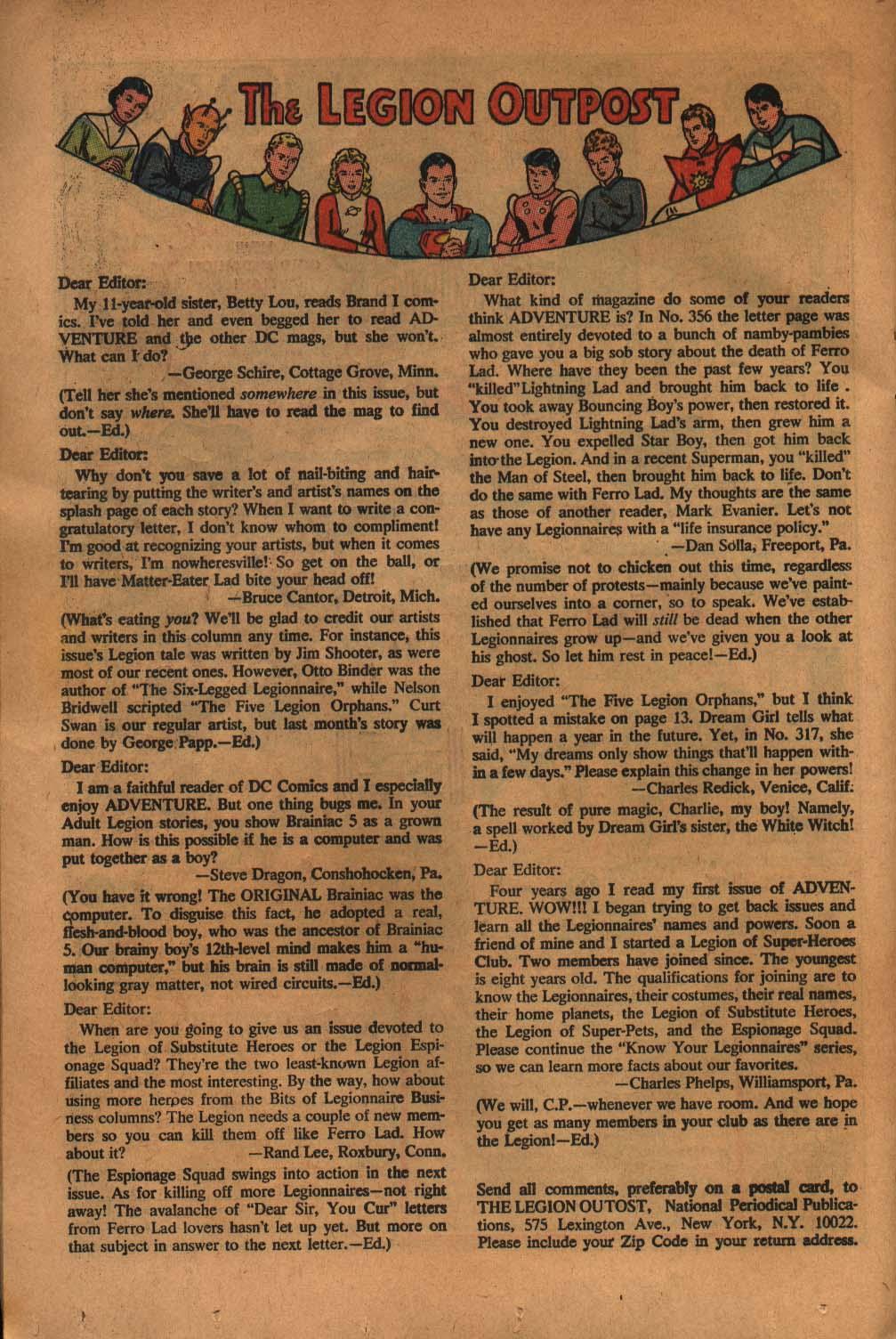 Read online Adventure Comics (1938) comic -  Issue #359 - 24