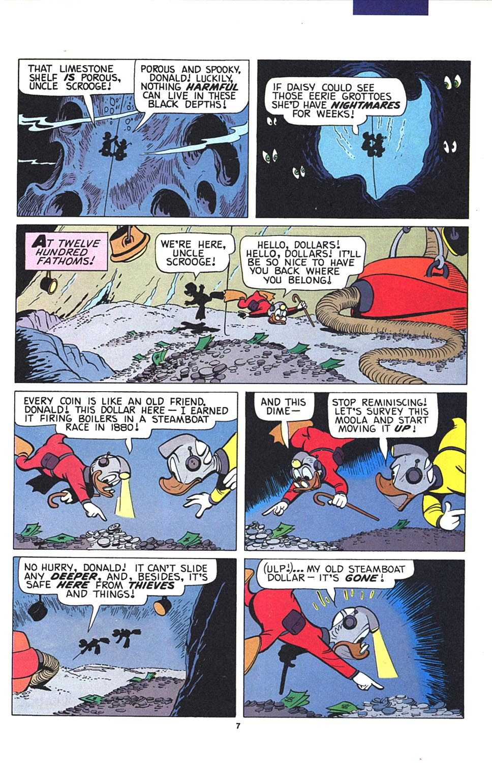 Read online Uncle Scrooge (1953) comic -  Issue #274 - 8