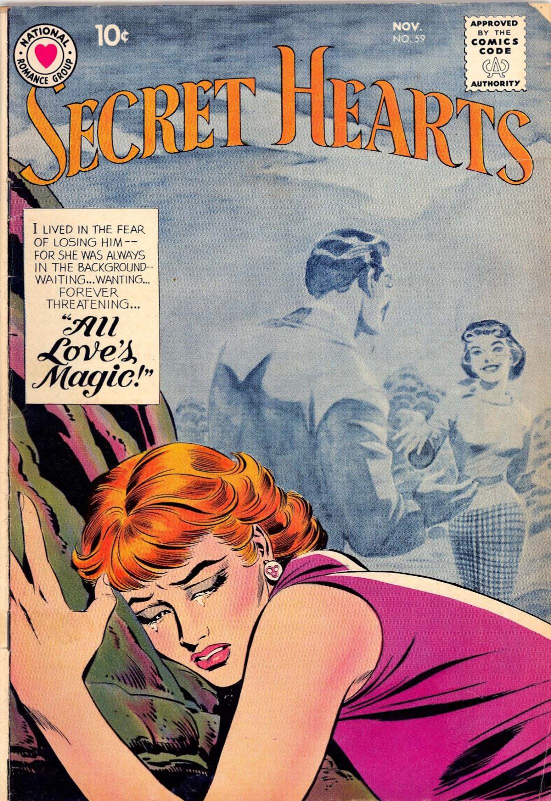 Secret Hearts 59 Page 1