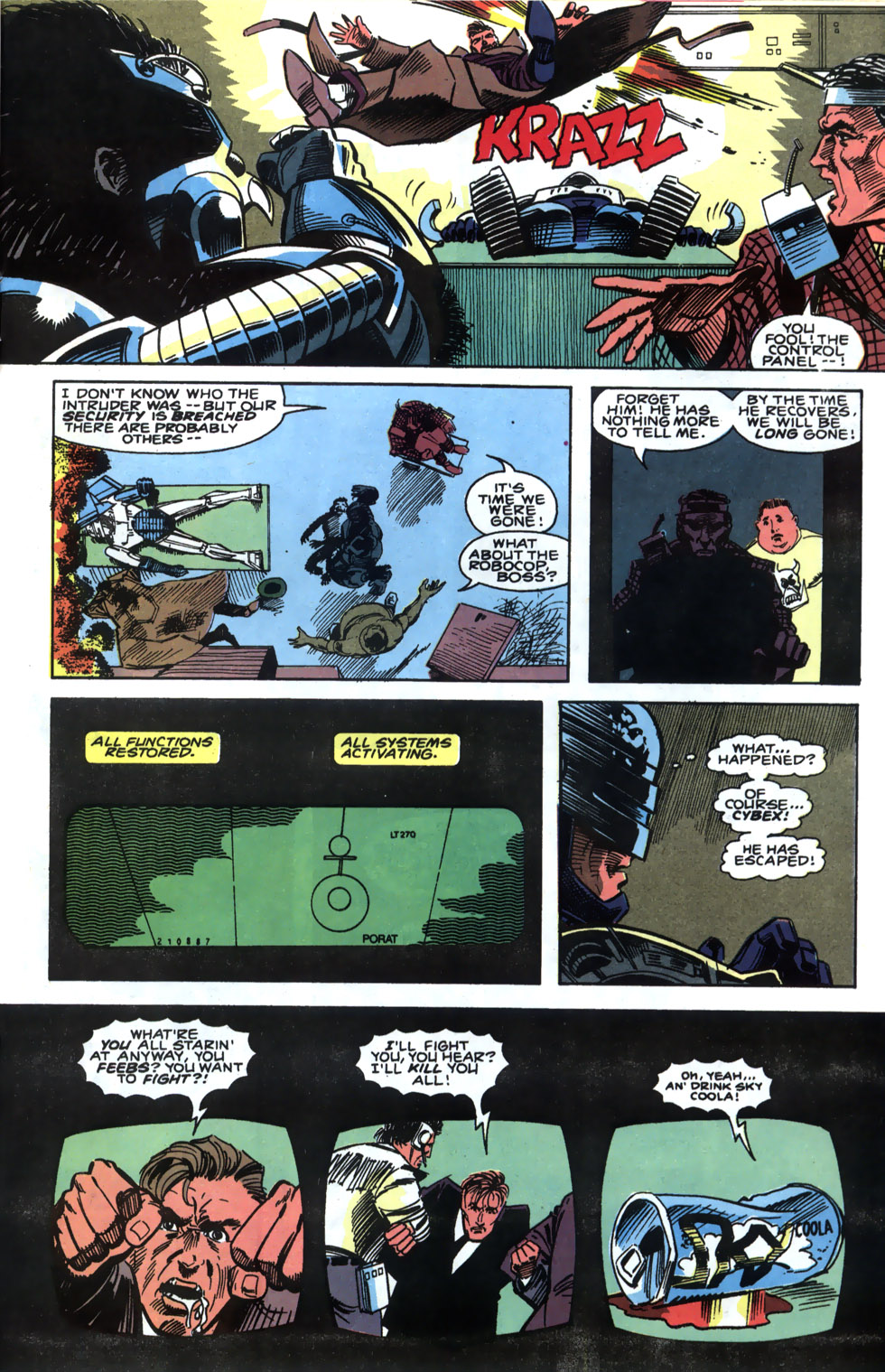 Read online Robocop (1990) comic -  Issue #4 - 15