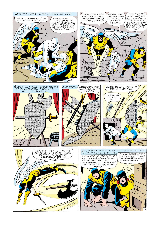 Read online Uncanny X-Men (1963) comic -  Issue #4 - 20