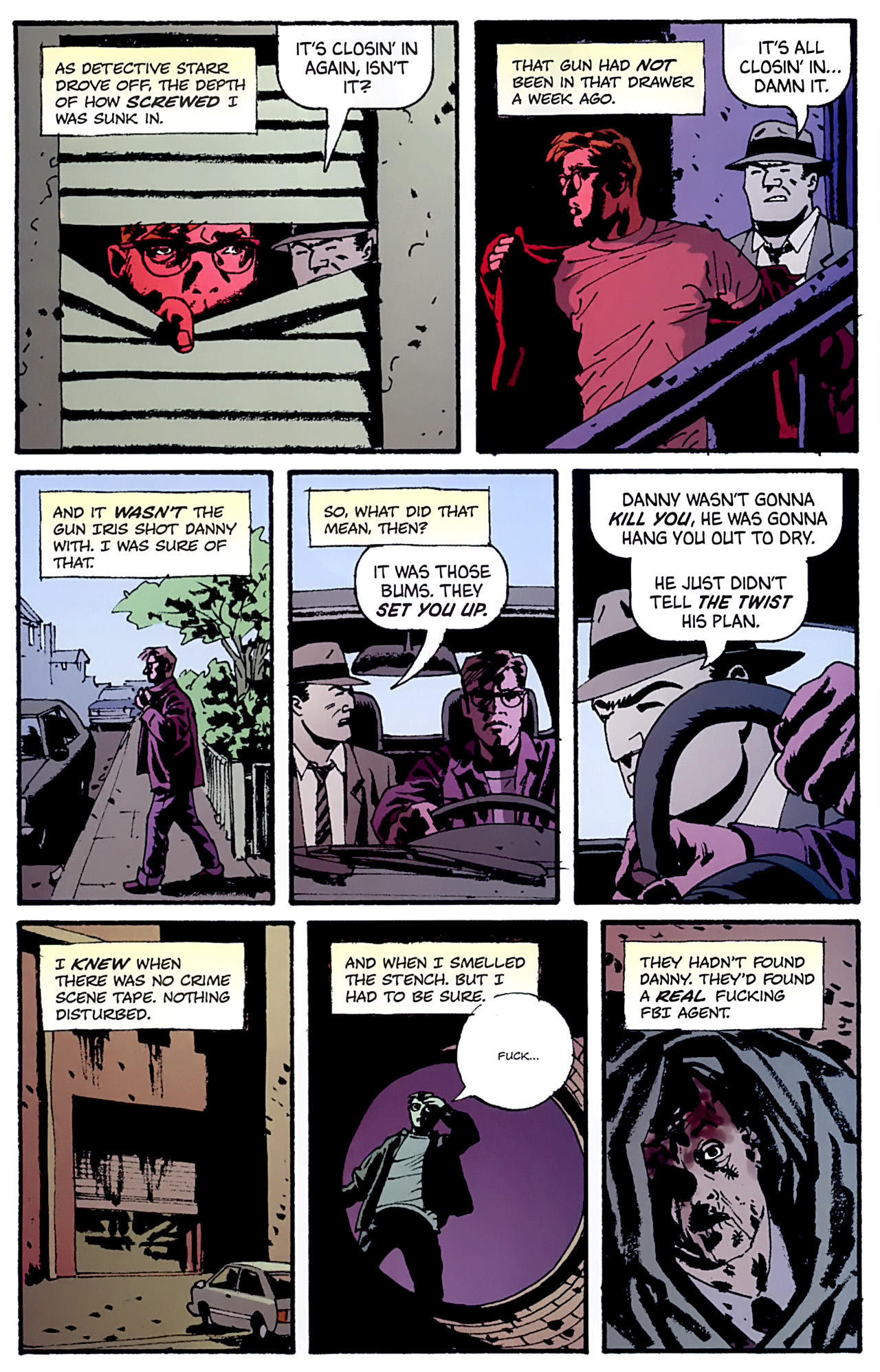 Read online Criminal (2008) comic -  Issue #6 - 18