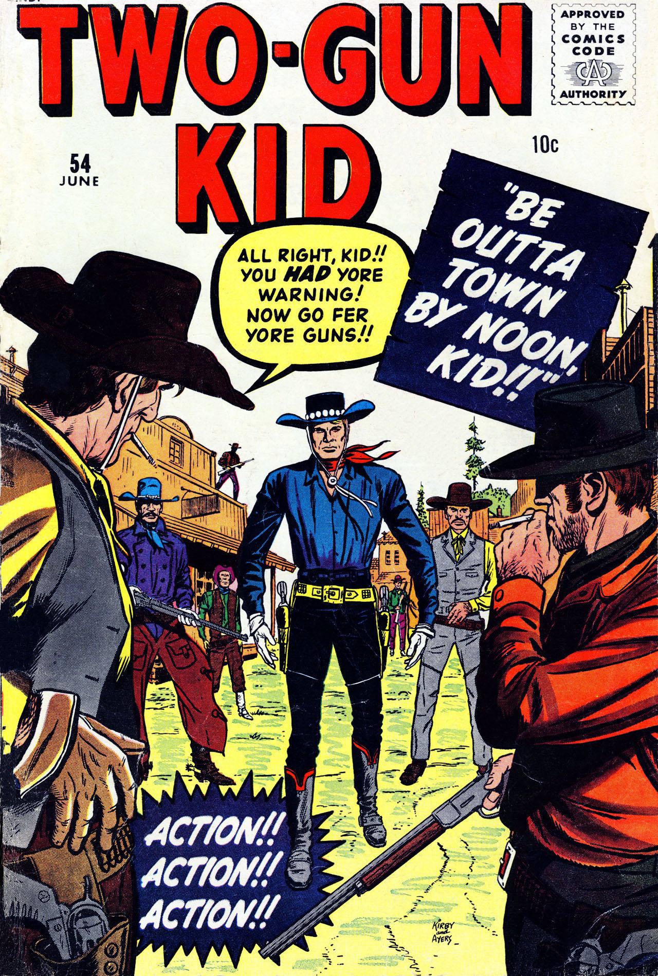 Read online Two-Gun Kid comic -  Issue #54 - 1
