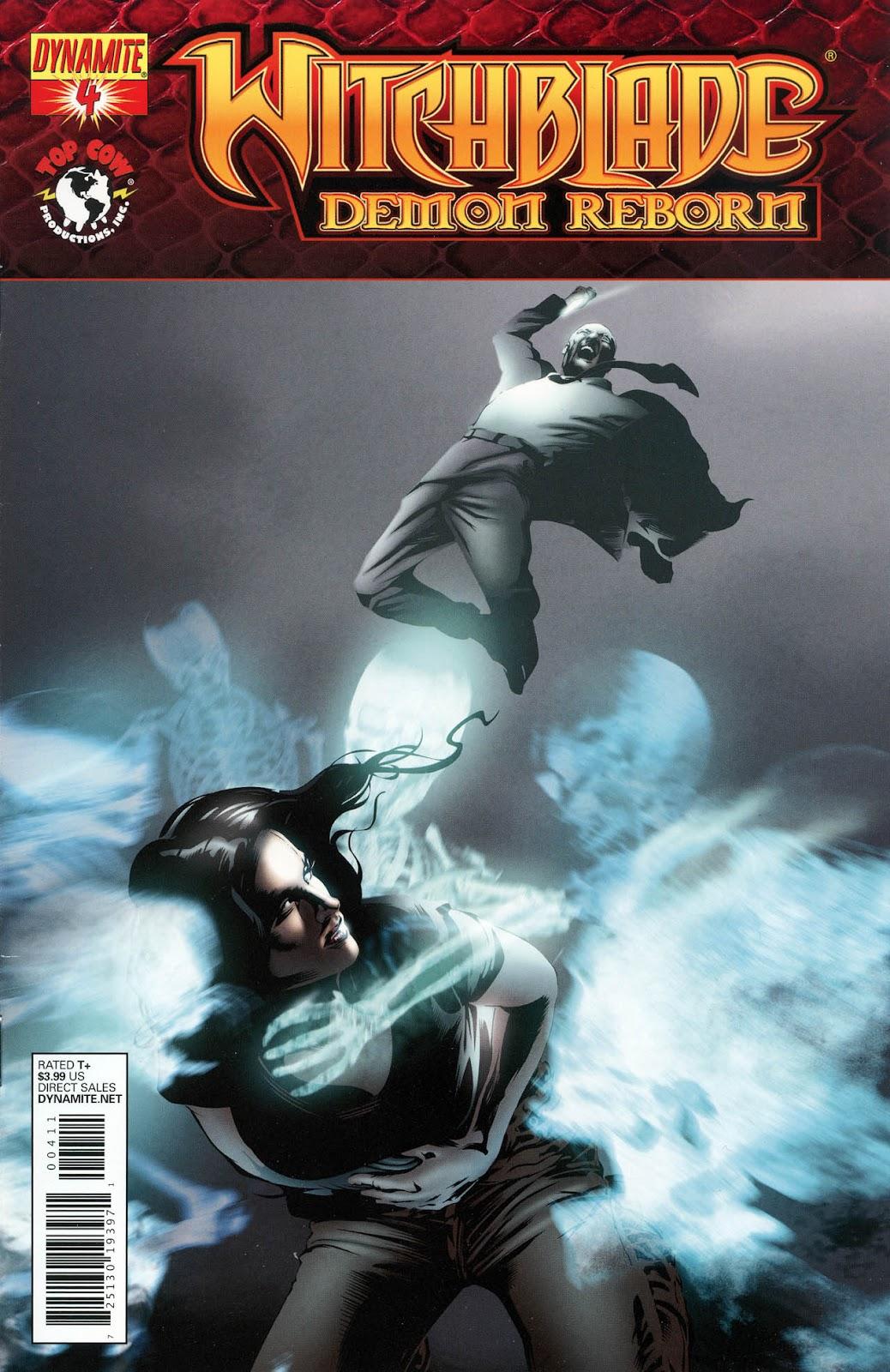 Witchblade: Demon Reborn 4 Page 1