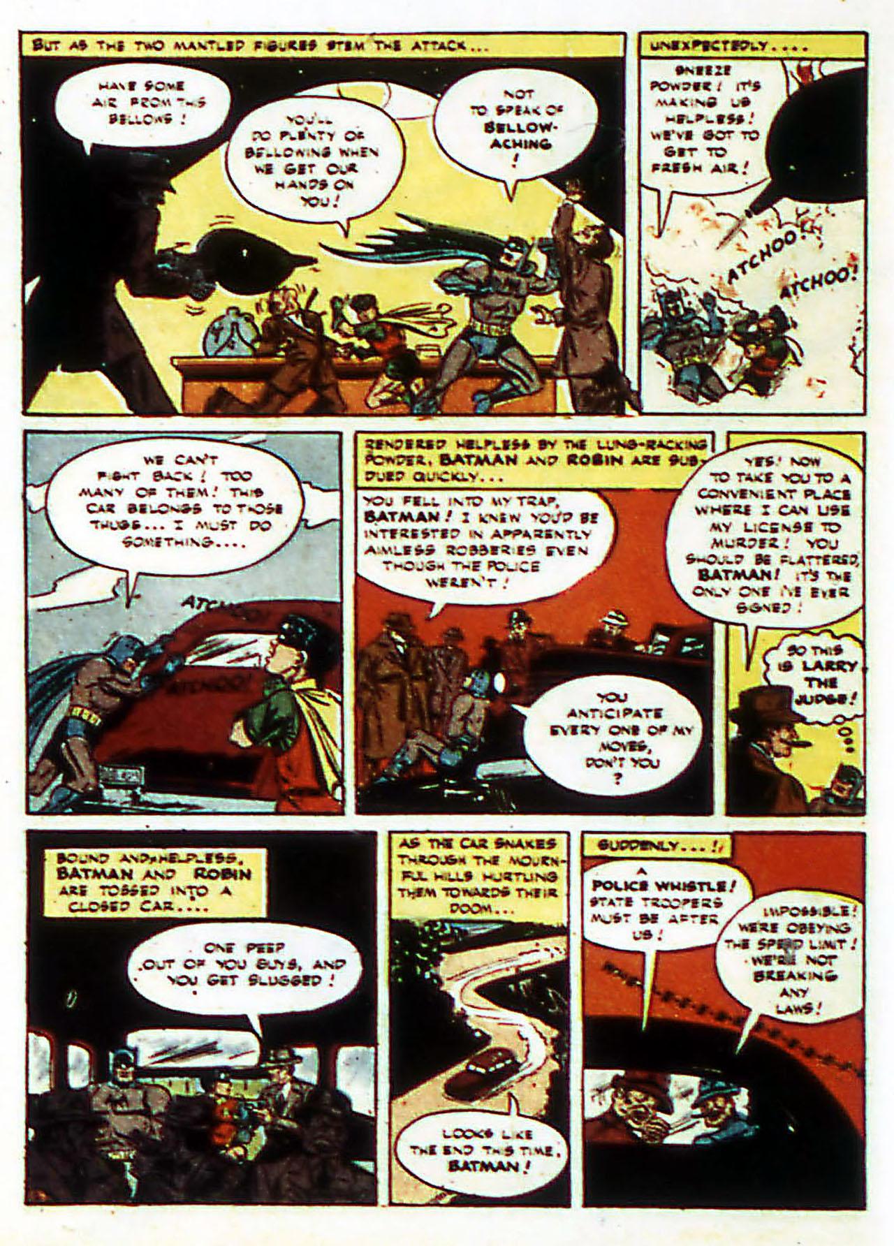 Read online Detective Comics (1937) comic -  Issue #72 - 15