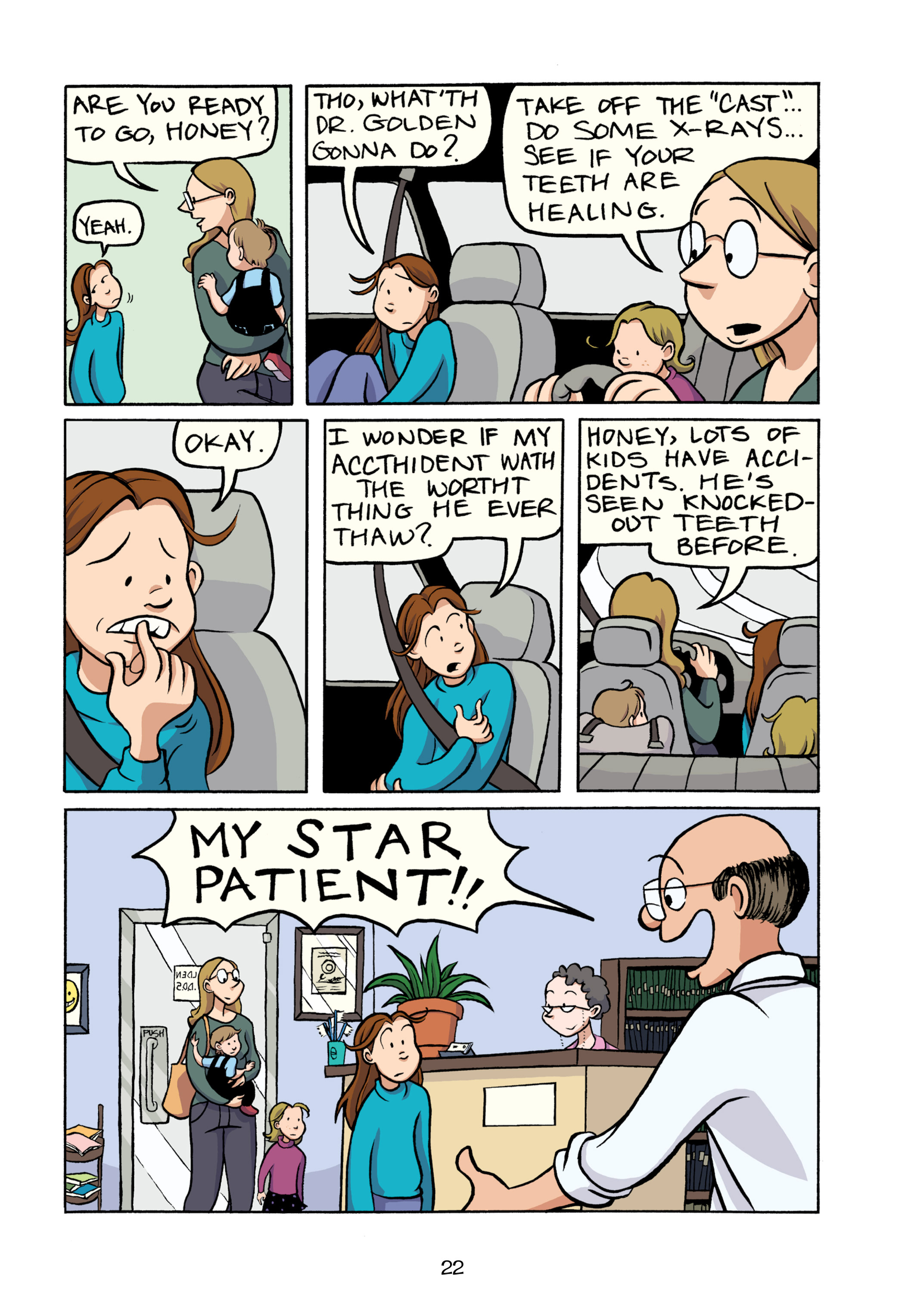 Read online Smile comic -  Issue # TPB - 28