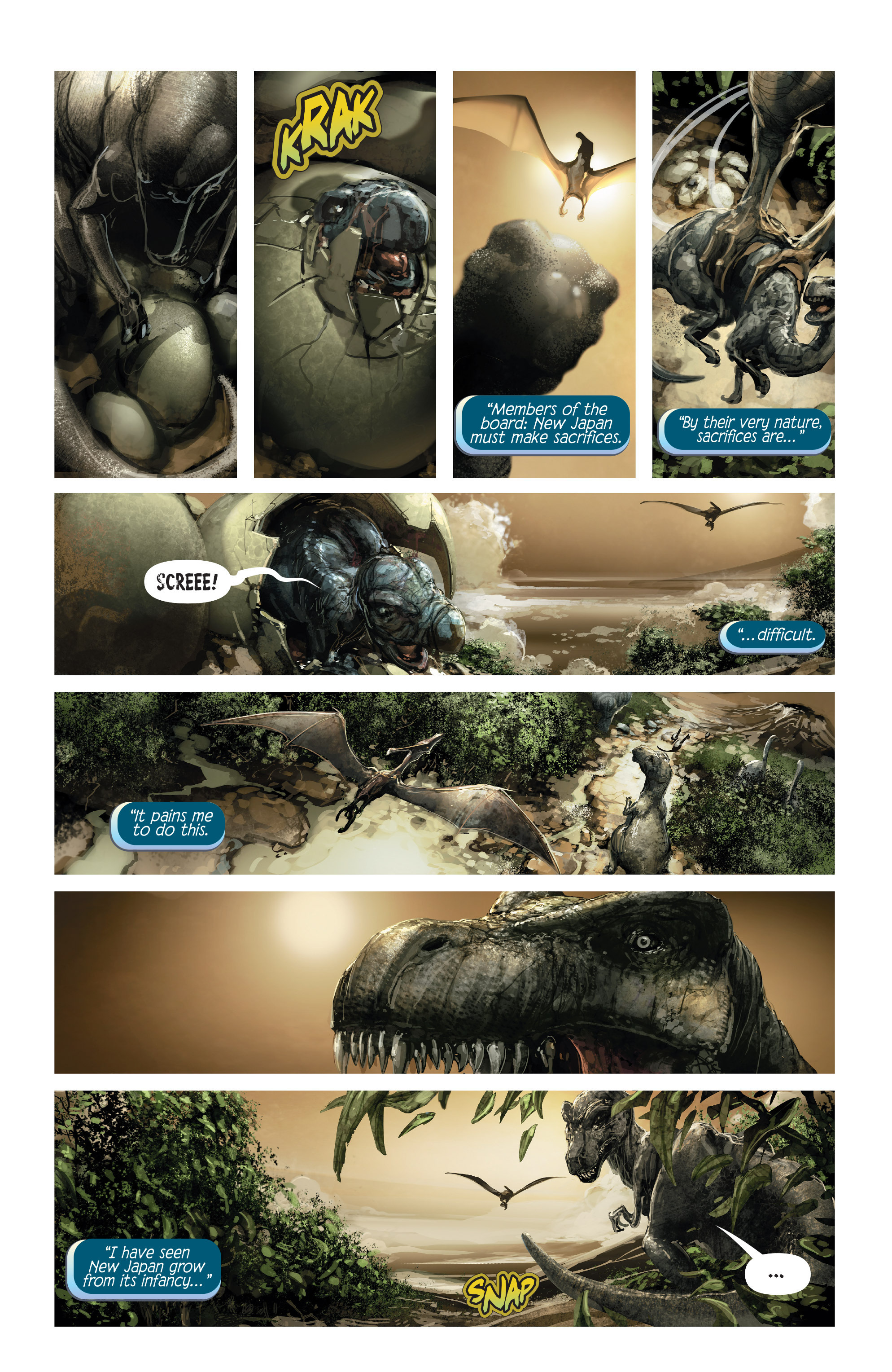 Read online 4001 A.D. comic -  Issue #1 - 6