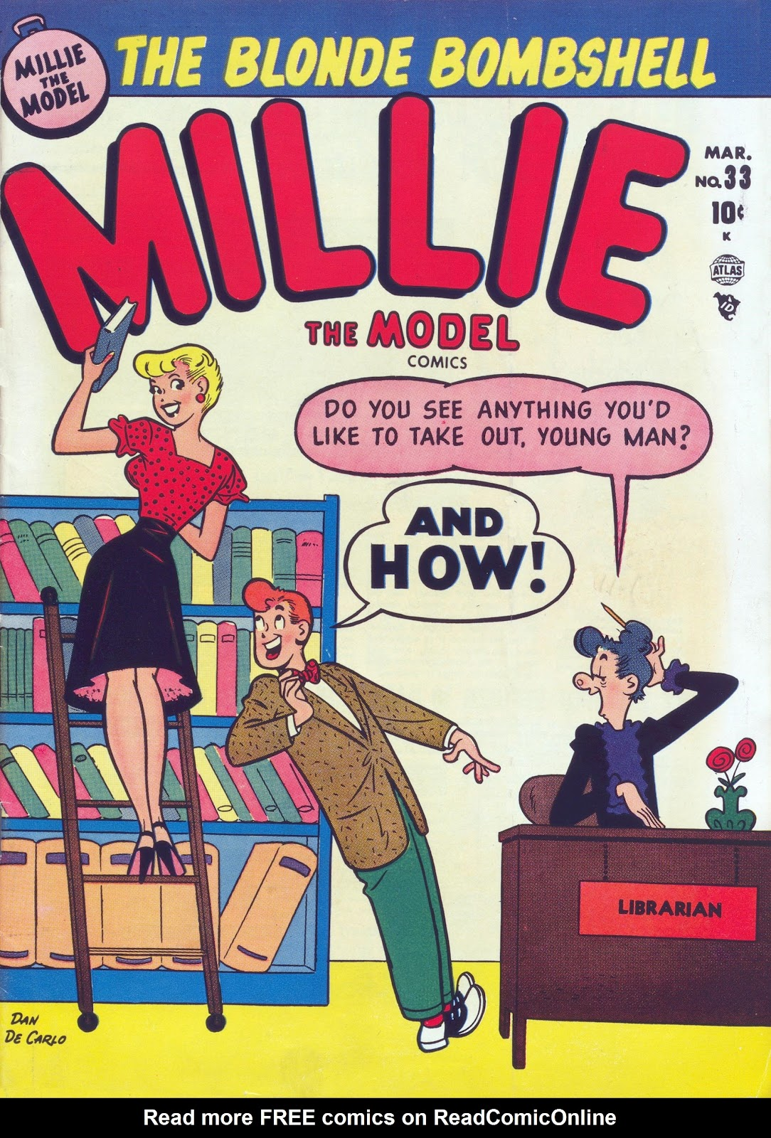 Millie the Model issue 33 - Page 1