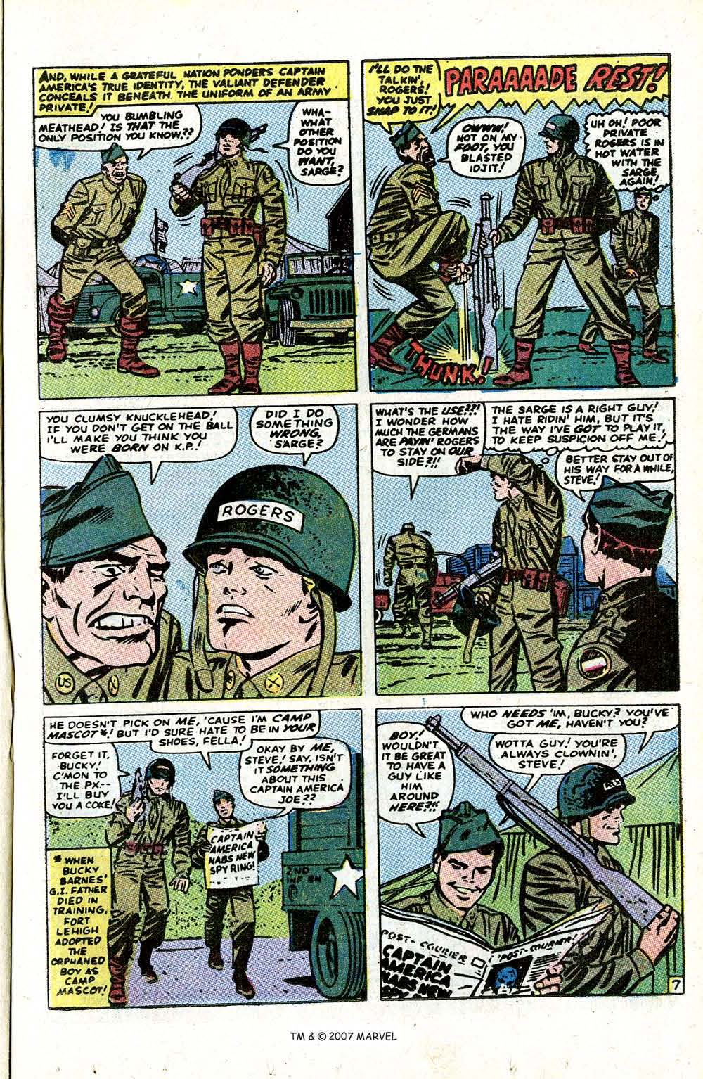 Read online Captain America (1968) comic -  Issue # _Annual 1 - 9