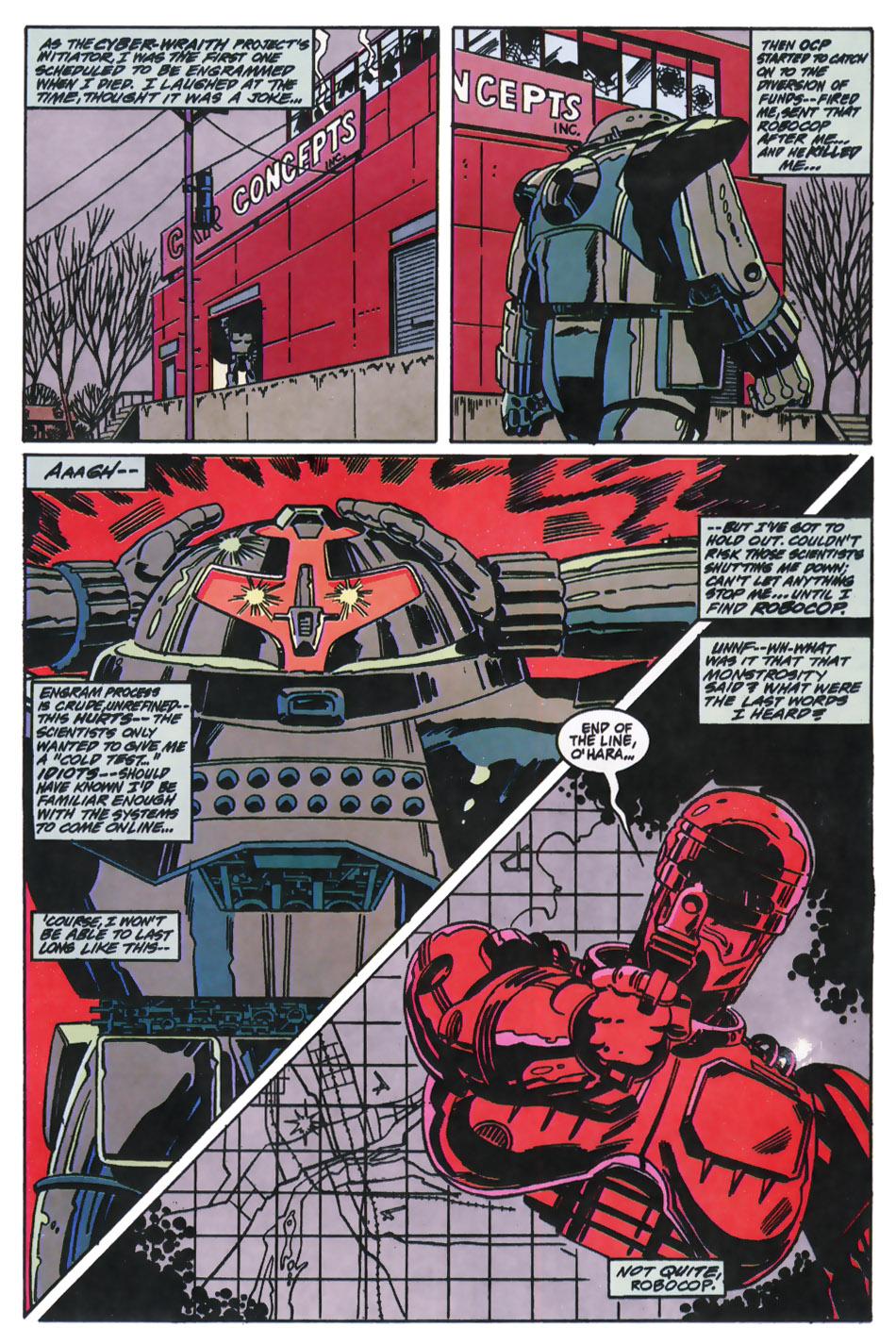 Read online Robocop (1990) comic -  Issue #11 - 4
