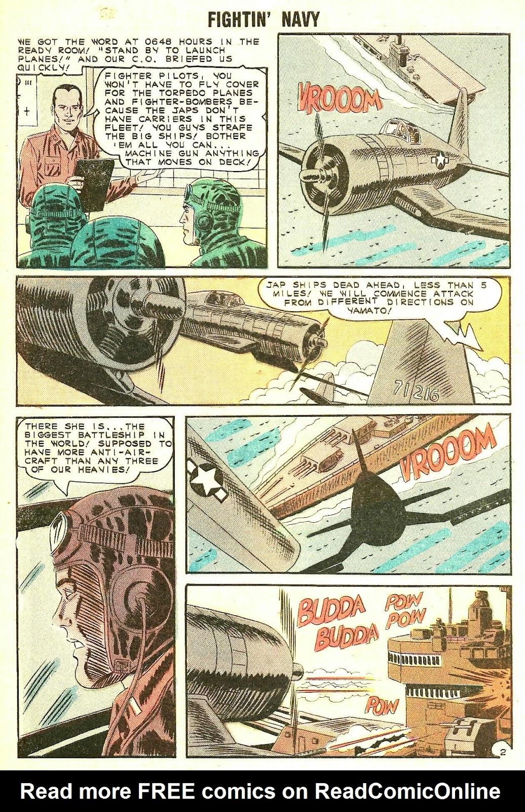 Read online Fightin' Navy comic -  Issue #119 - 4