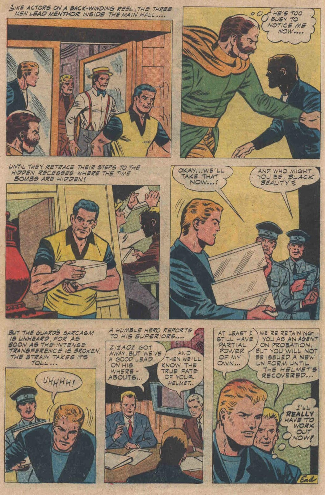 T.H.U.N.D.E.R. Agents (1965) issue 6 - Page 54