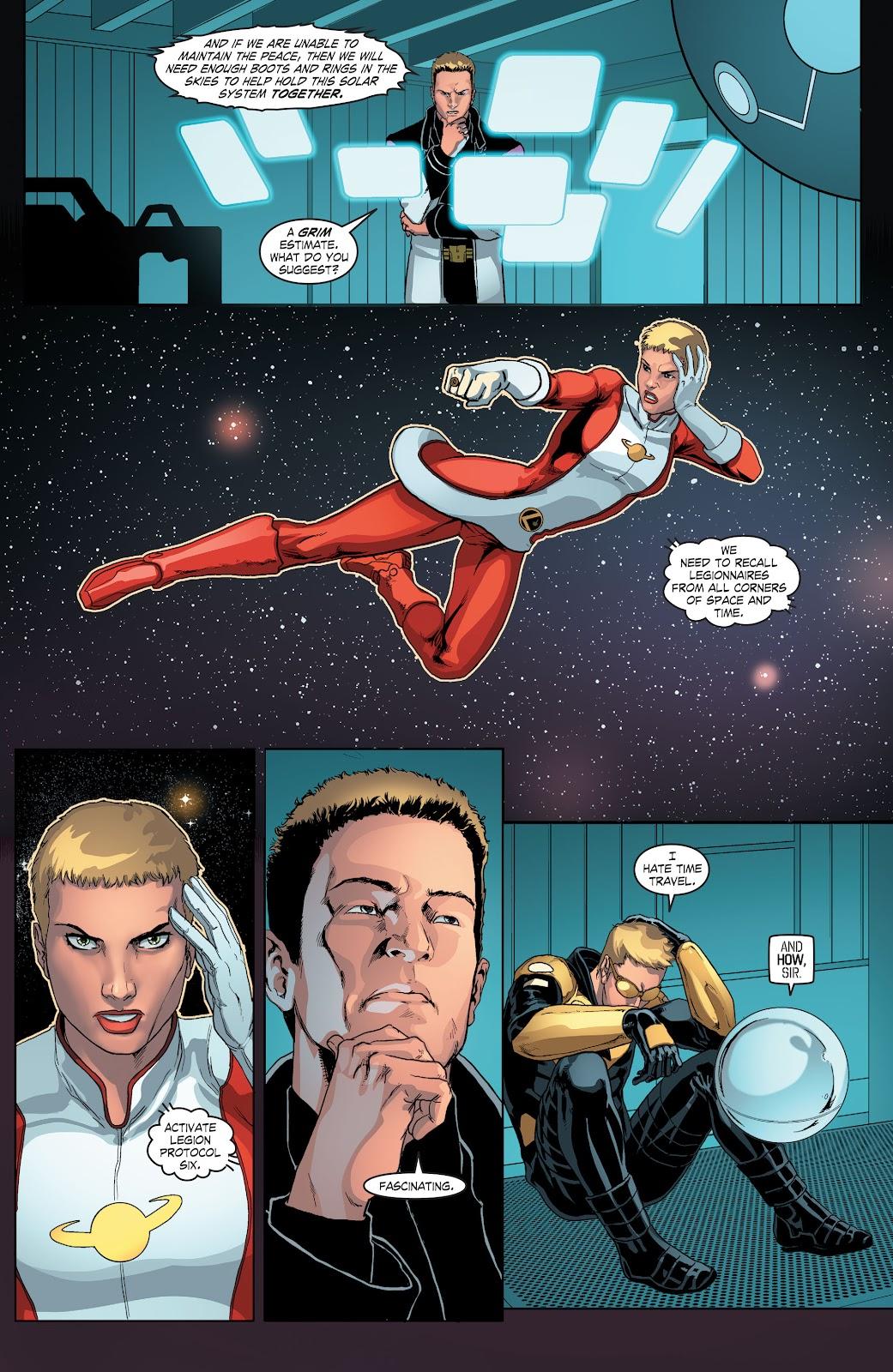 Read online Smallville Season 11 [II] comic -  Issue # TPB 4 - 56