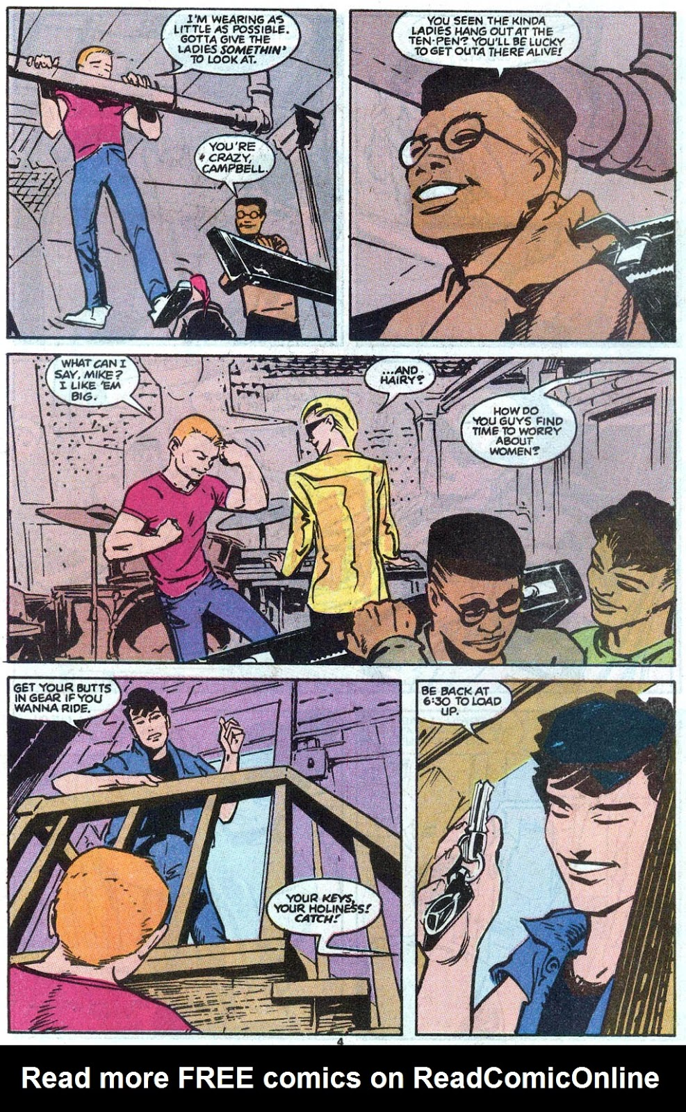 Steeltown Rockers issue 4 - Page 5