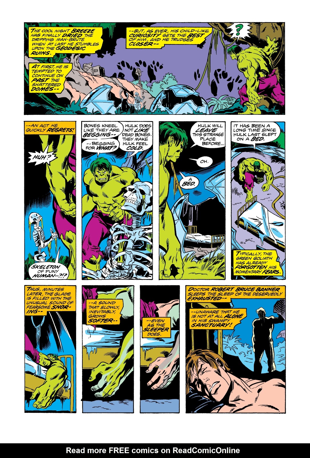 Read online Marvel Masterworks: The Incredible Hulk comic -  Issue # TPB 12 (Part 1) - 14