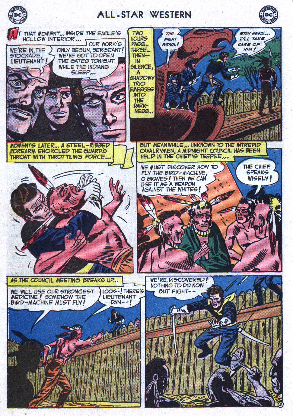 Read online All-Star Western (1951) comic -  Issue #71 - 22