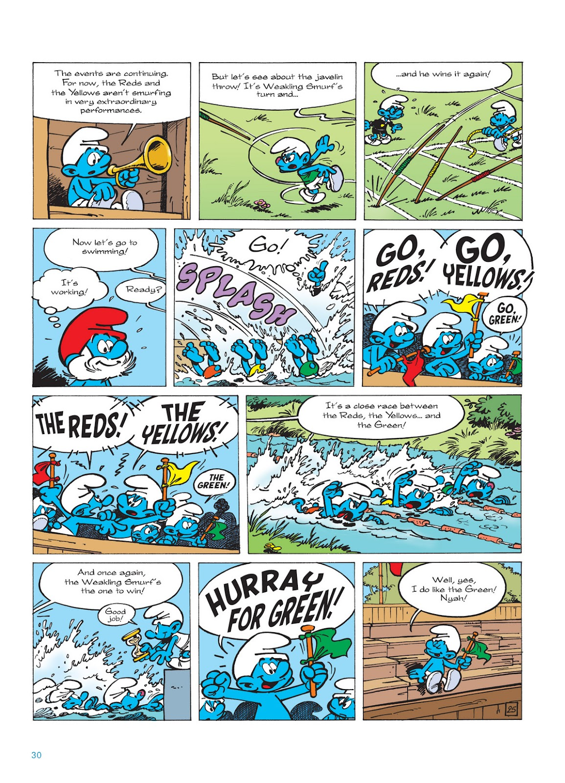 Read online The Smurfs comic -  Issue #11 - 30