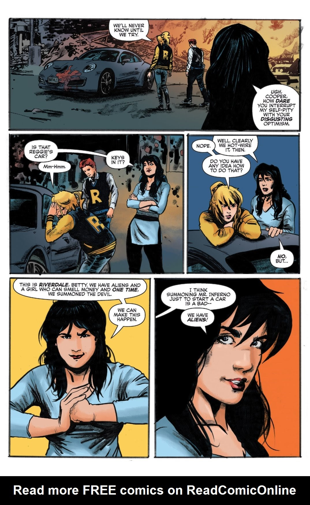 Archie vs. Predator II #1 #1 - English 9