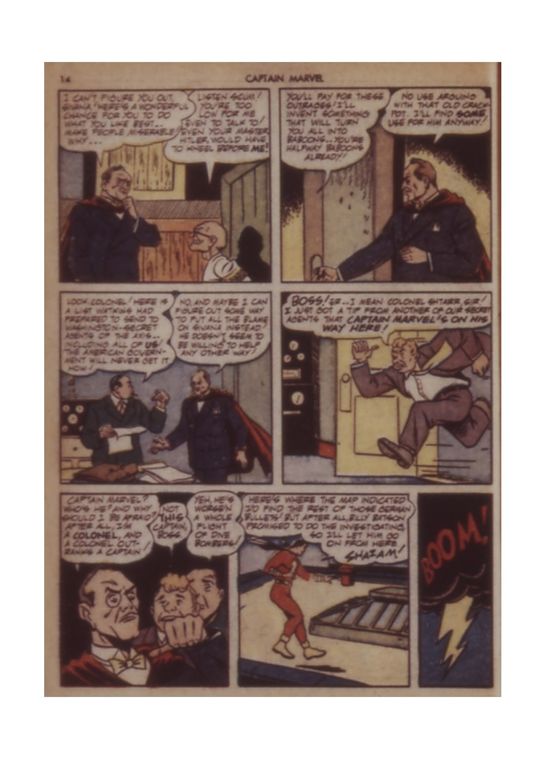 Captain Marvel Adventures issue 11 - Page 14