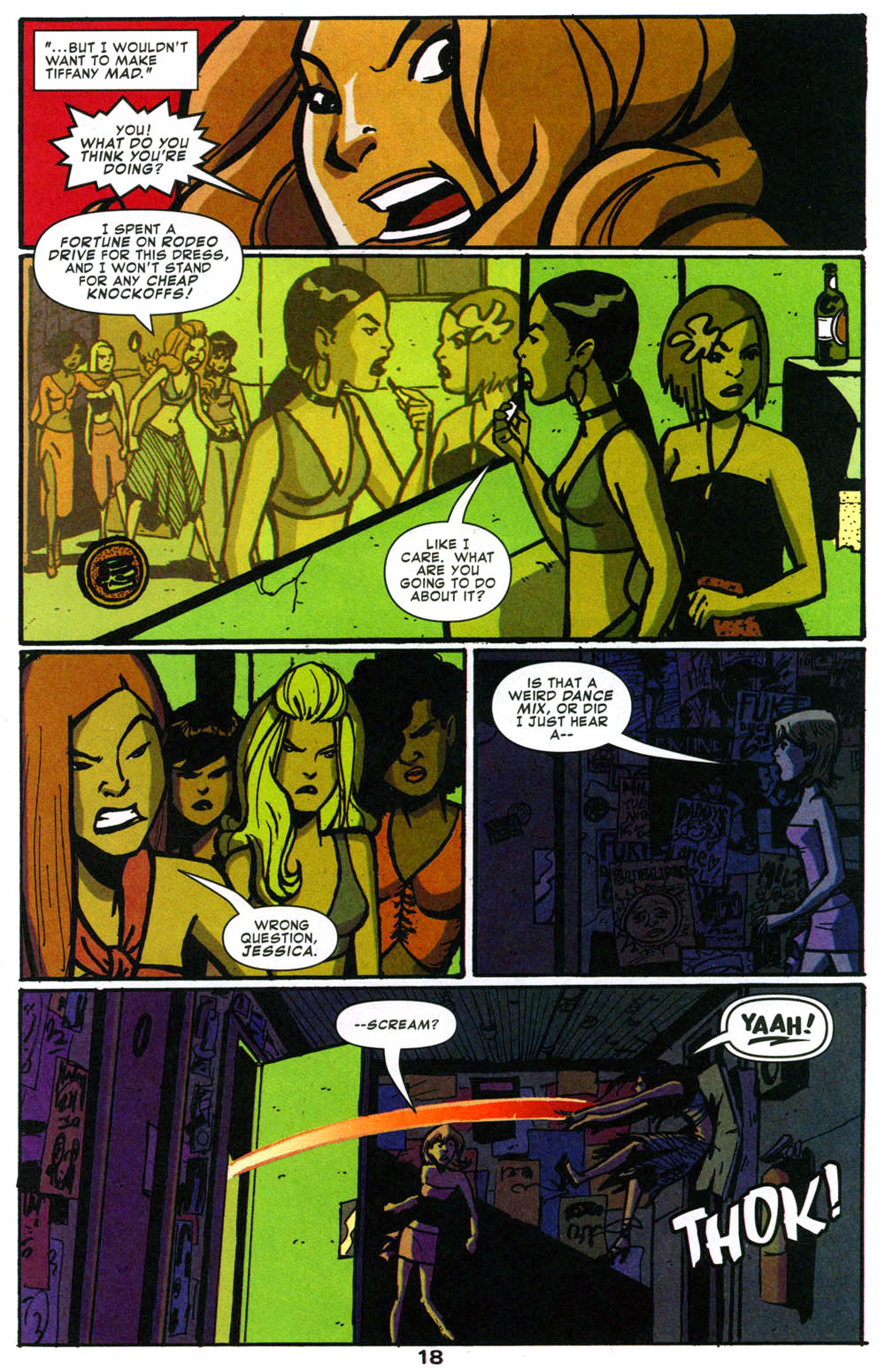 Read online Bad Girls comic -  Issue #1 - 19